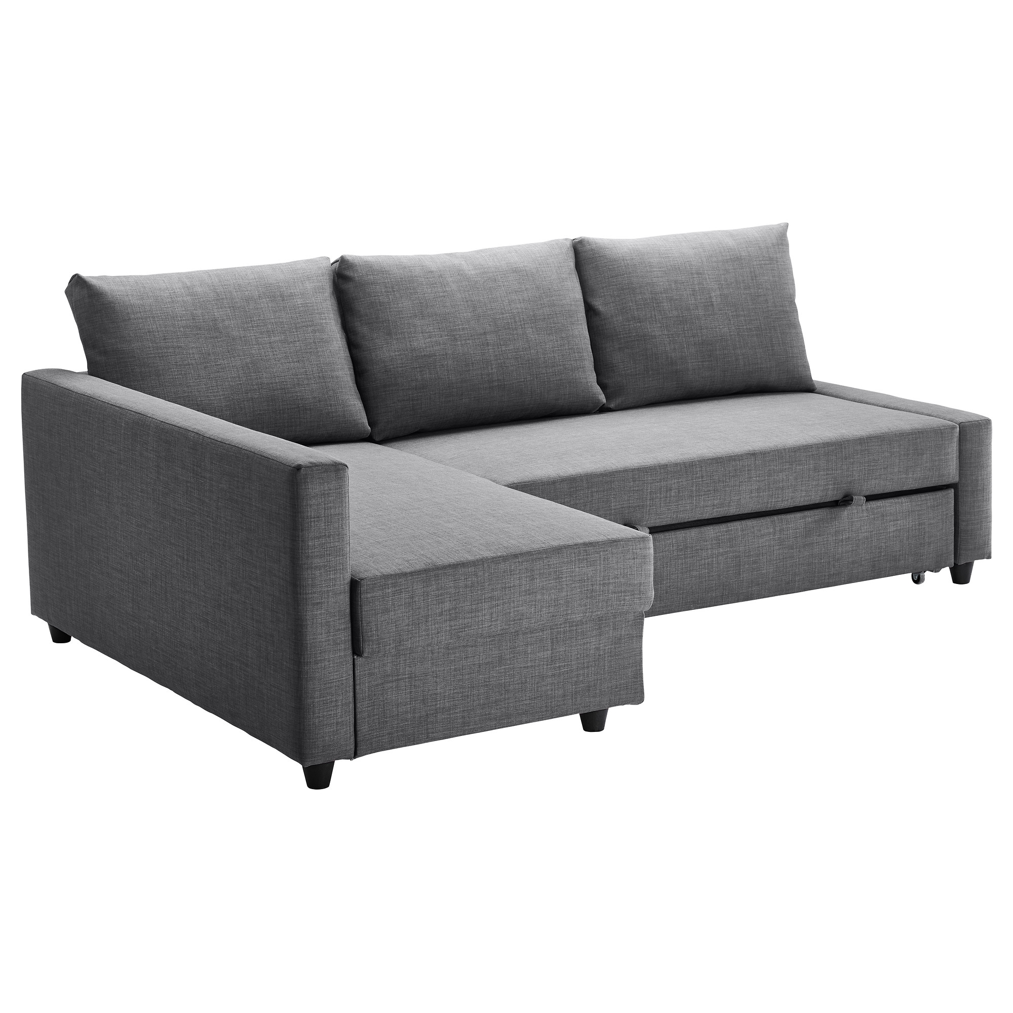 2018 Ikea Loveseat Sleeper Sofas Intended For Friheten Sleeper Sectional,3 Seat W/storage – Skiftebo Dark Gray (View 3 of 15)