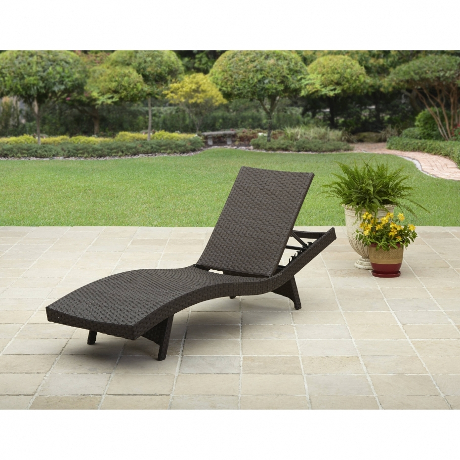 2018 Leather Sofas With Chaise Lounge Intended For Outdoor : Cheap Lounge Chairs Patio Furniture Chaise Lounge White (View 8 of 15)