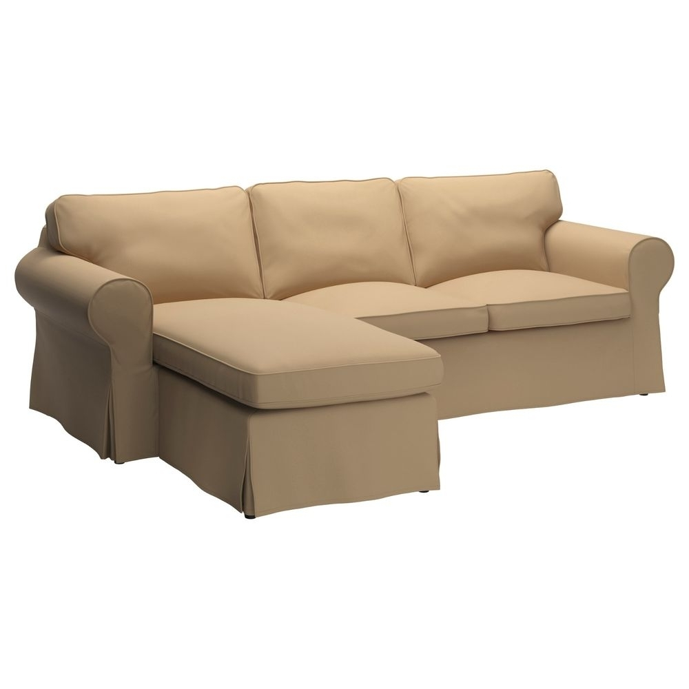 2018 Loveseats With Chaise For New Ikea Ektorp Loveseat Sofa With Chaise Cover Slipcover Idemo (View 4 of 15)