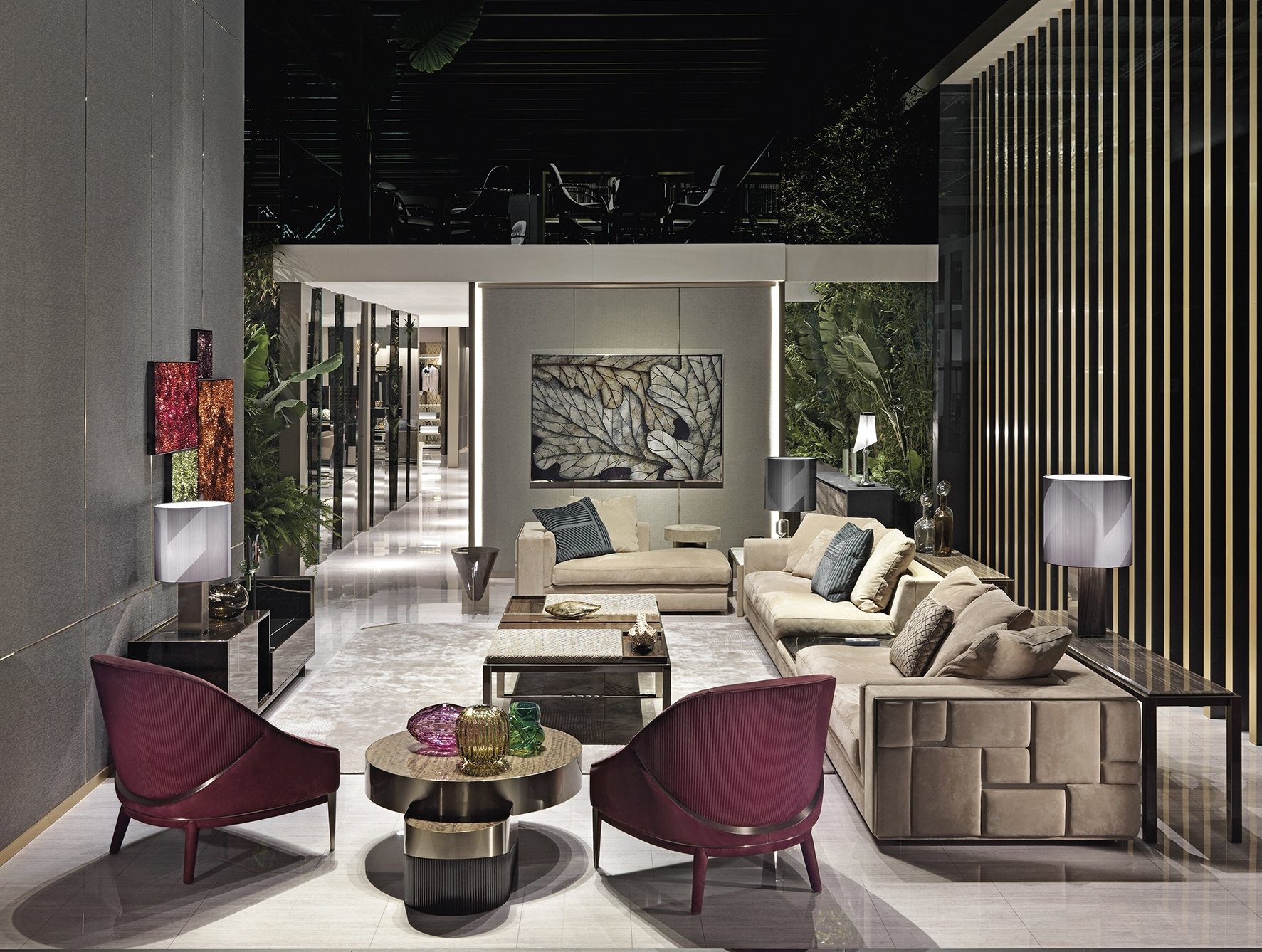 2018 Luxury Sofas With Regard To Italian Designer Luxury High End Sofas & Sofa Chairs: Nella Vetrina (View 1 of 15)