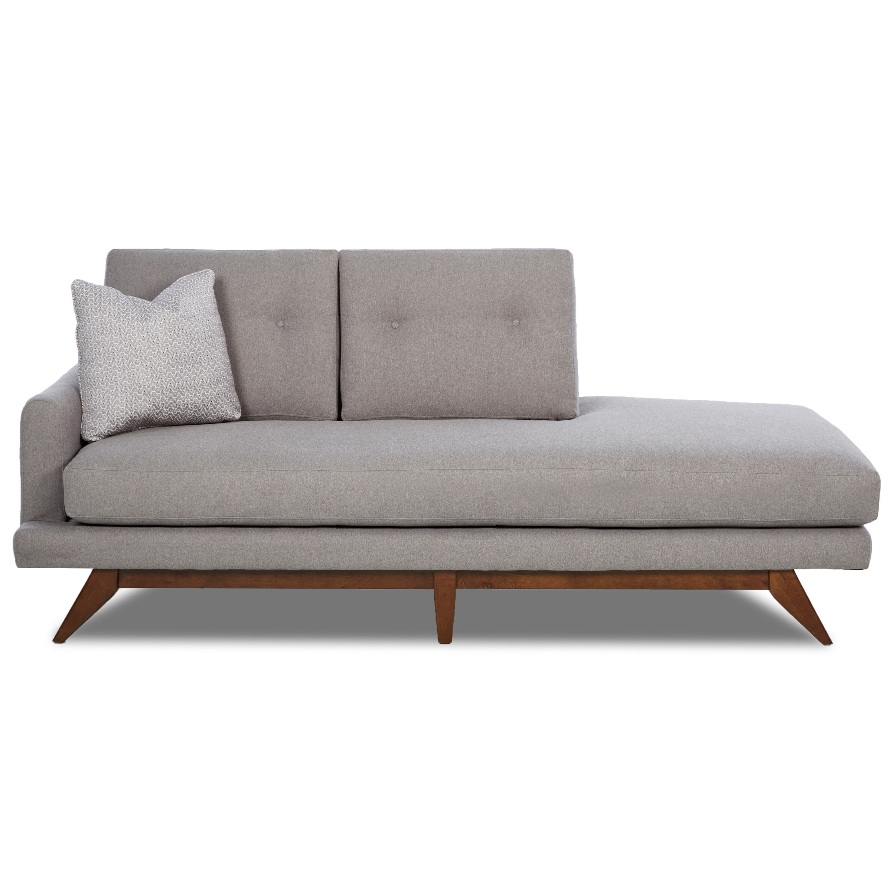 2018 Mid Century Chaises Throughout Sofa : Nice Mid Century Modern Chaise Lounge Chairs Sofa Mid (View 8 of 15)