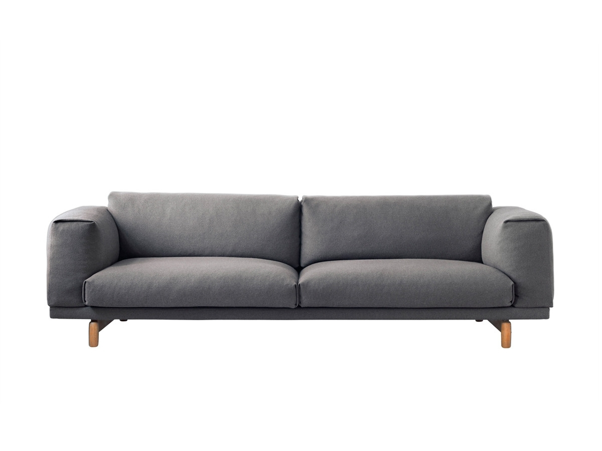 2018 Modern 3 Seater Sofas & Contemporary Couches At Nest.co (View 1 of 15)