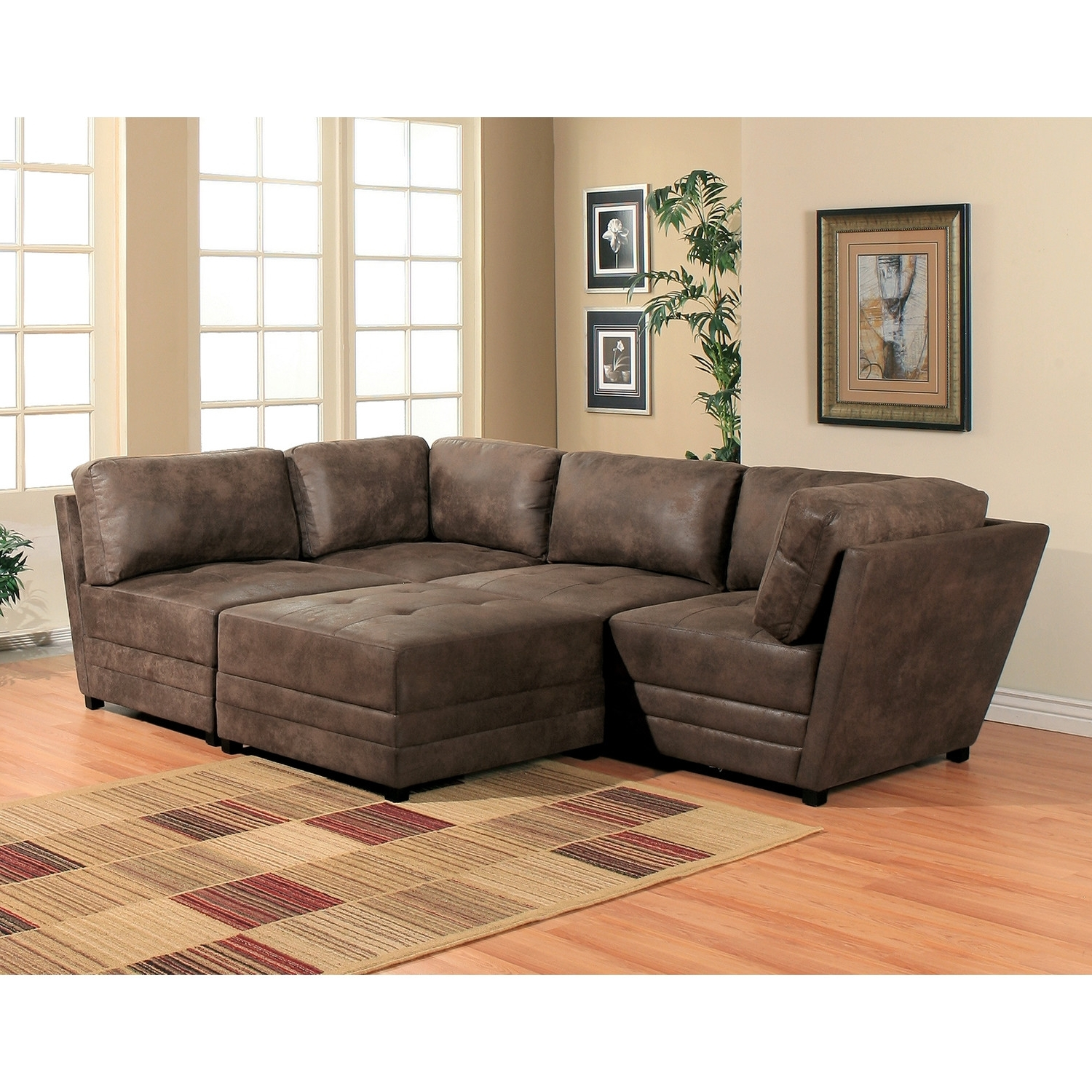 2018 Modular Sectional Sofa With Ottoman – Utilizing Modular Sectional With Modular Sectional Sofas (View 1 of 15)