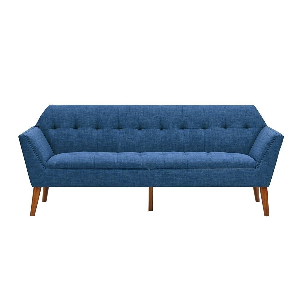 2018 Newport Sofas With Regard To Amazon: Ink+Ivy Newport Sofa Blue See Below: Kitchen & Dining (View 3 of 15)