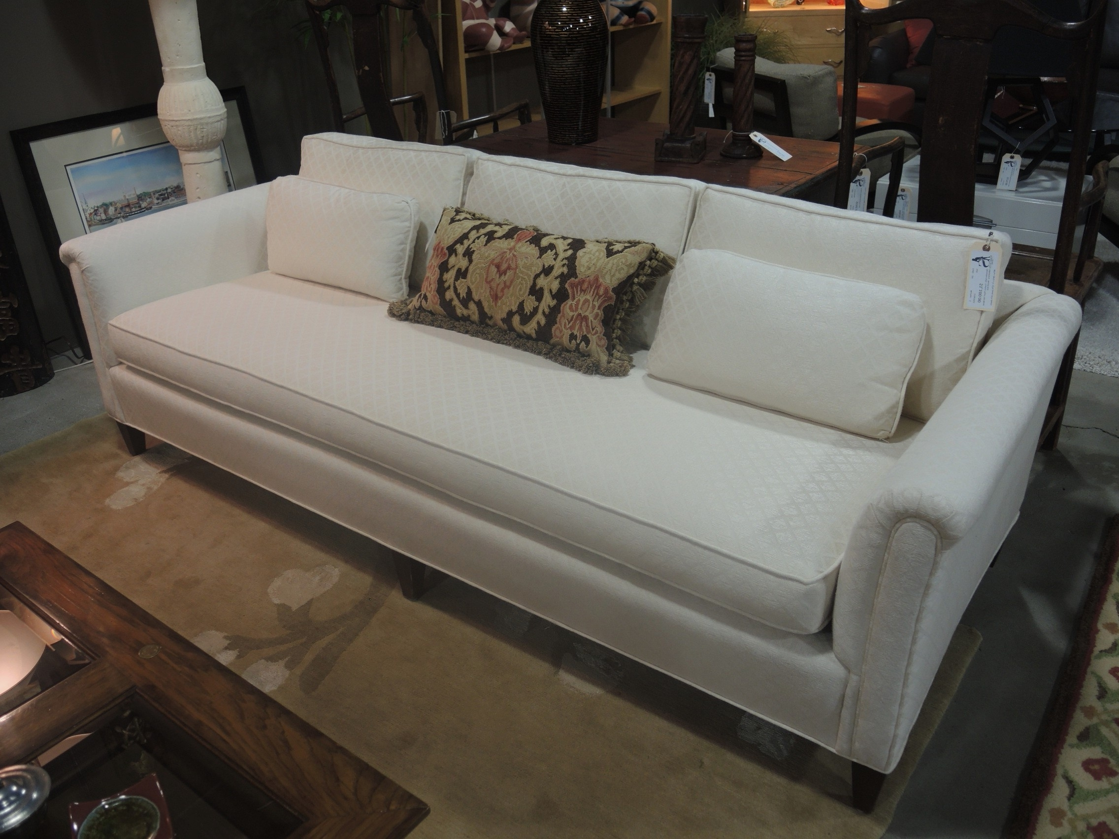 2018 One Cushion Sofas Inside Sofas : Sofa Throws Loveseat Couch Corner Sofa One Cushion Couch (View 3 of 15)