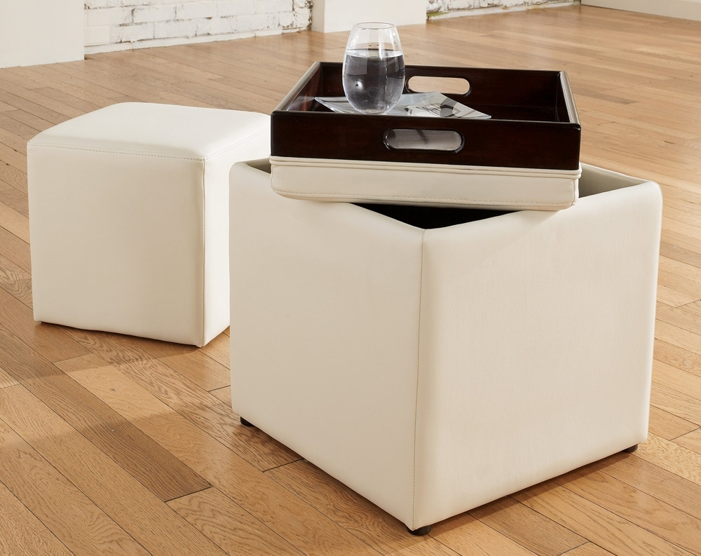 2018 Ottomans With Tray Throughout Storage Ottoman With Tray — Dans Design Magz (View 1 of 15)