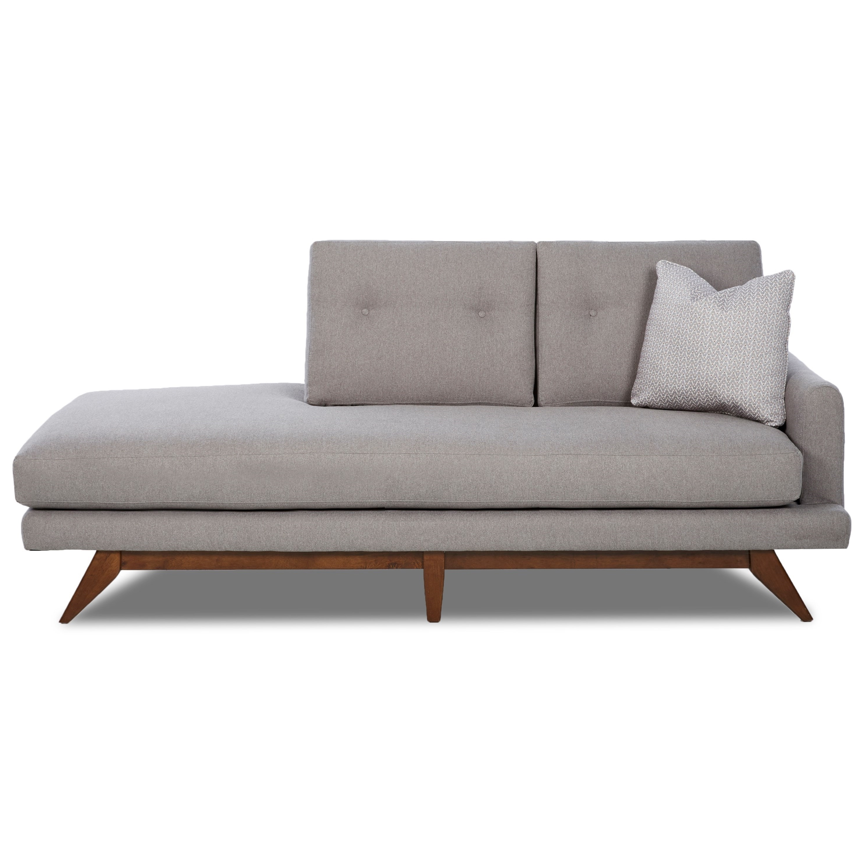 2018 Right Arm Chaise Lounges Inside Chase Furniture (View 7 of 15)