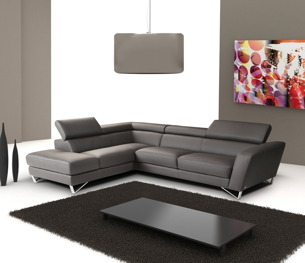 2018 Salt Lake City Sectional Sofas With Regard To Sparta Italian Leather Sectional Sofa (View 1 of 15)