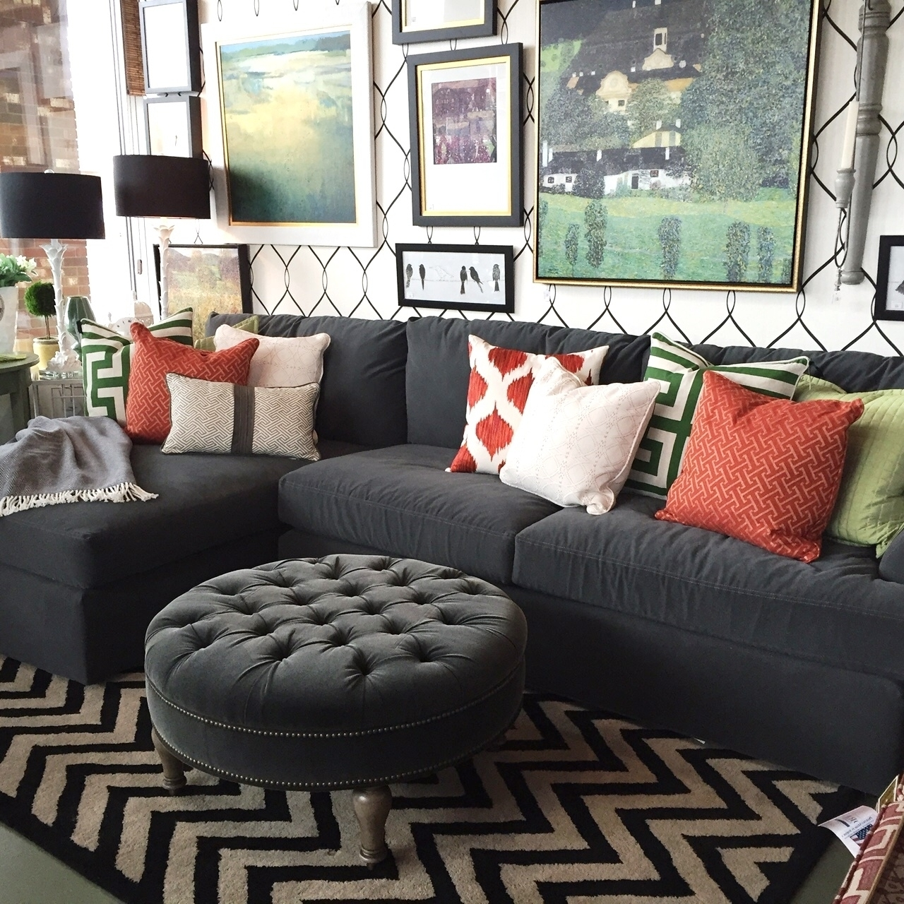 2018 Sectional Sofas In Small Spaces Trellis Of Erie Regarding Small Inside Sectional Sofas For Small Areas (View 15 of 15)