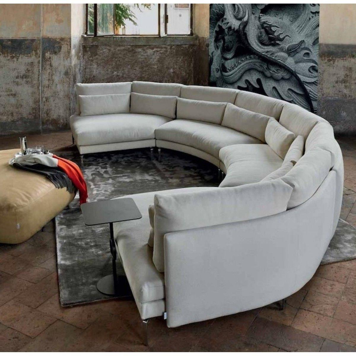 2018 Semicircular Sofas For Pindaniel Harper On Decor (View 3 of 15)
