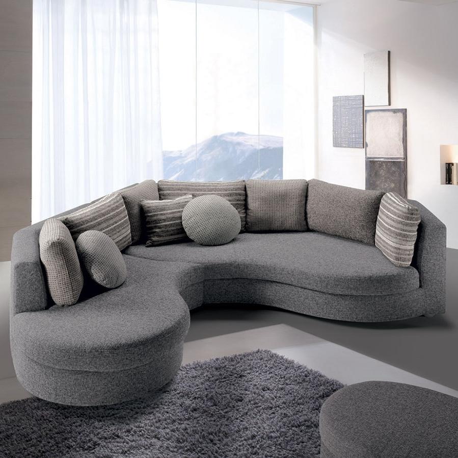2018 Semicircular Sofas With Modular Sofa / Semicircular / Contemporary / Fabric – Felis Style (View 12 of 15)