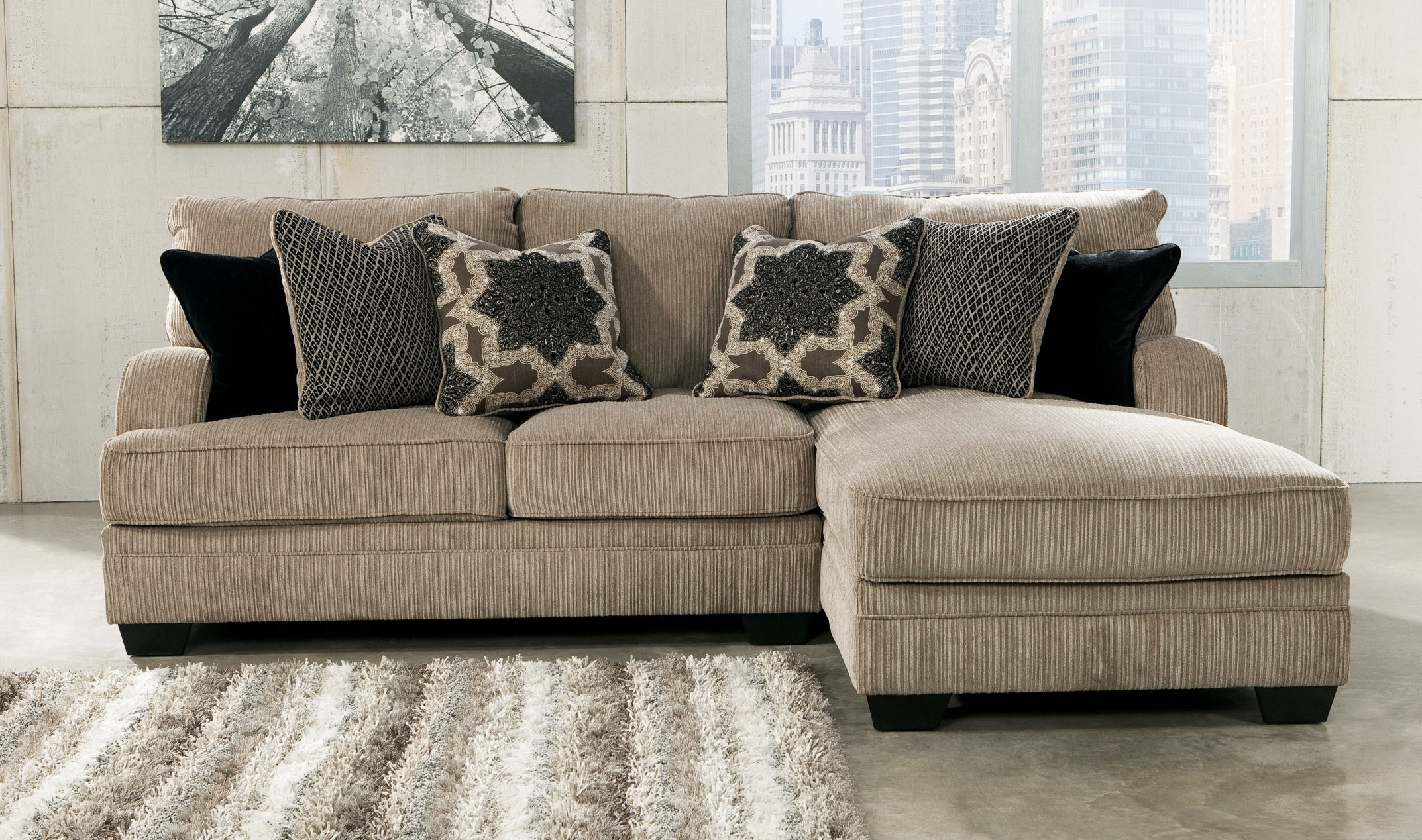 2018 Small Sectional Sofas With Chaise Lounge Pertaining To Luxury Small Sectional Sofa With Chaise Lounge 79 For Stickley (View 6 of 15)
