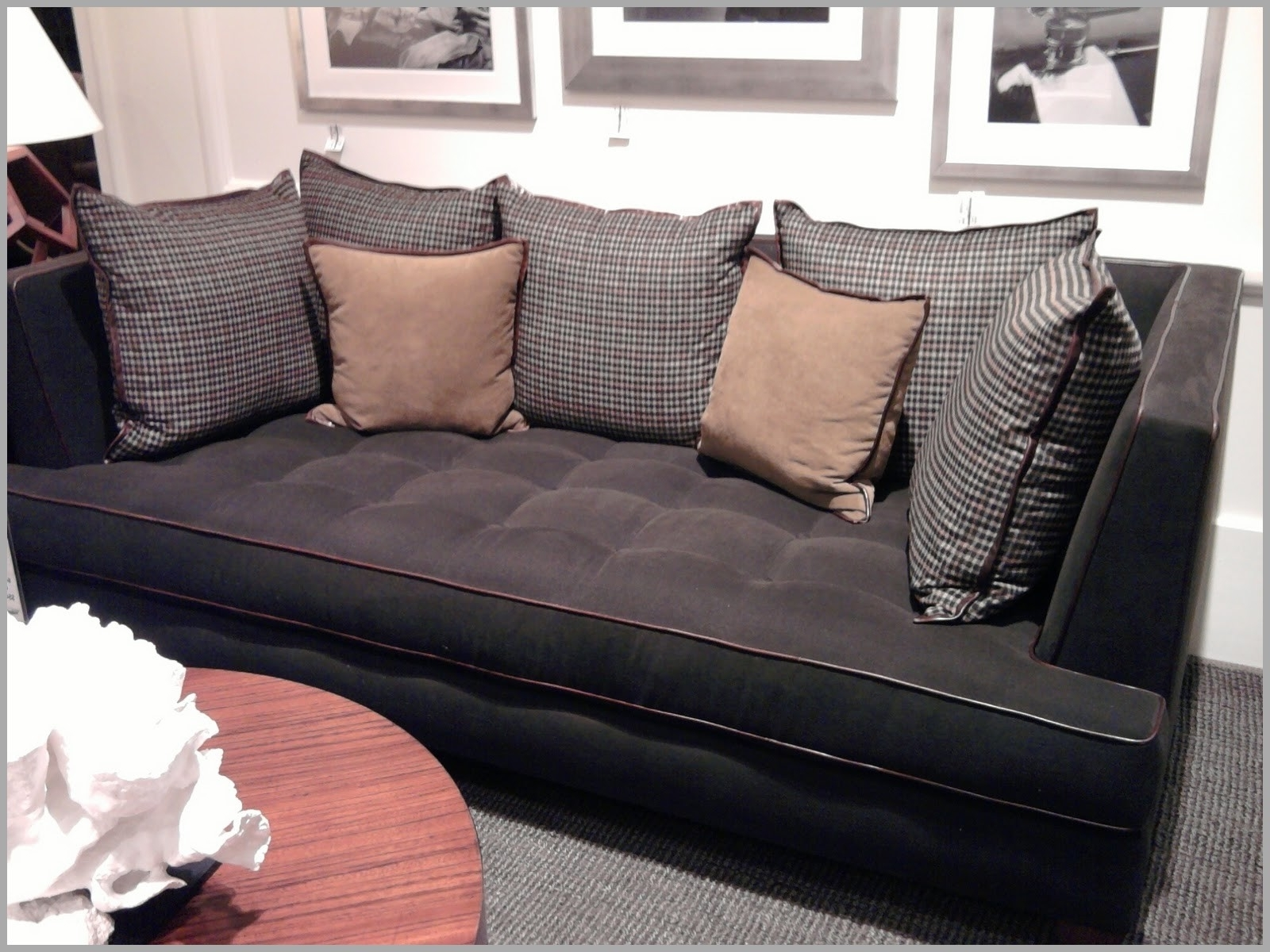 2018 Sofas : Curved Sectional Sofa Modern Sofa Deep Cushion Couch With Regard To Deep Cushion Sofas (View 1 of 15)