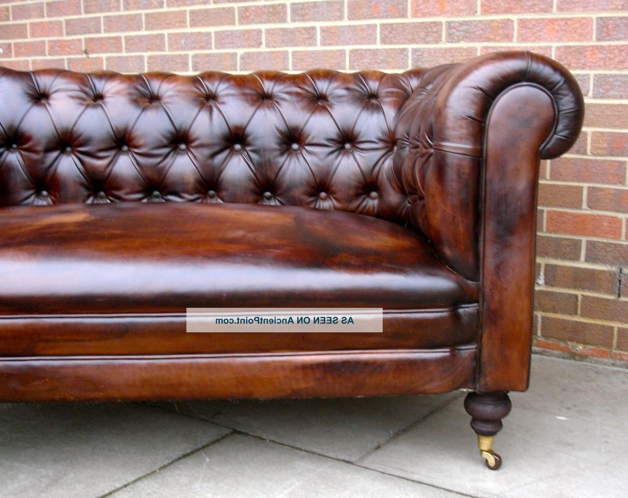 2018 Used Leather Chesterfield Sofa – Home And Textiles Intended For Leather Chesterfield Sofas (View 1 of 15)