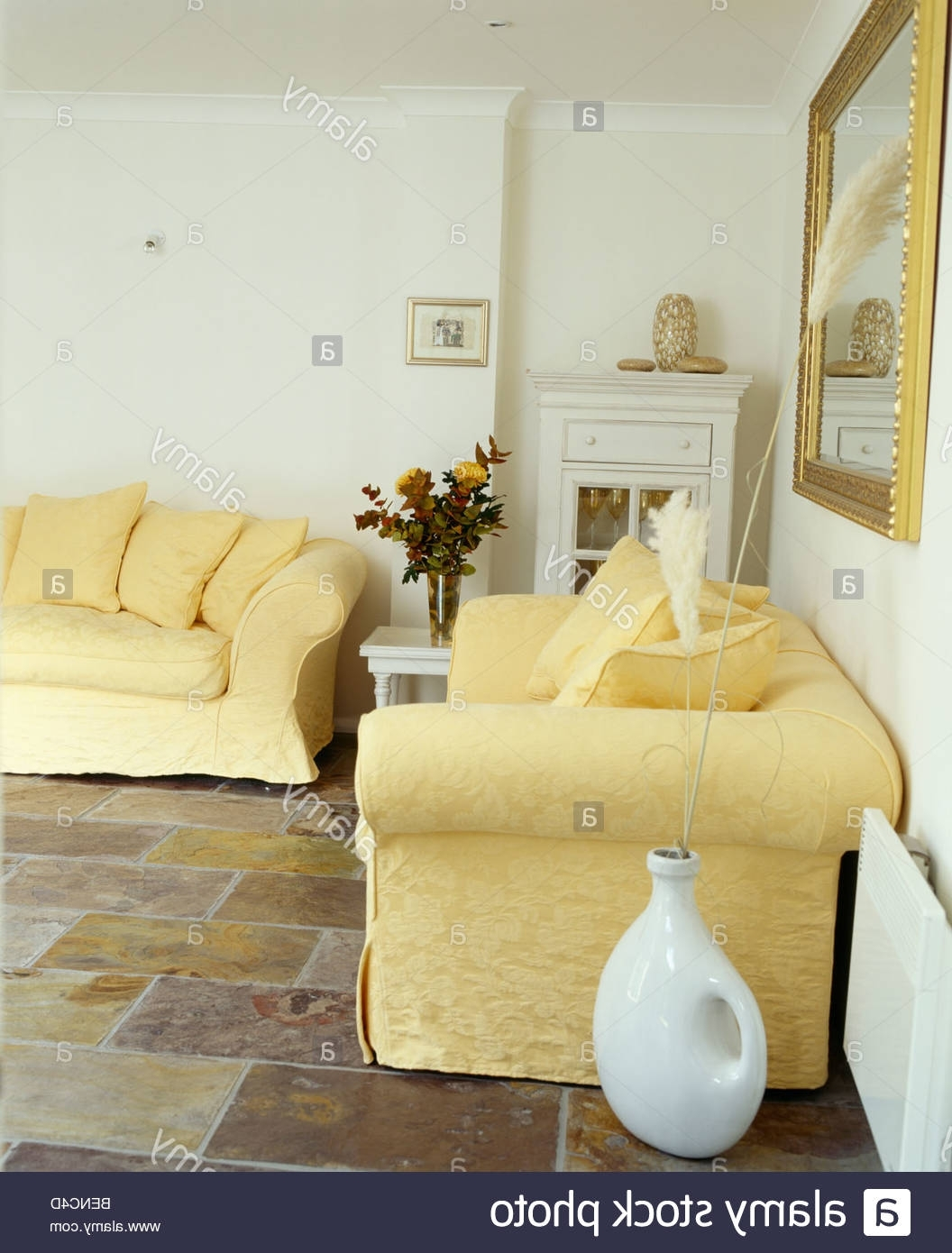 2018 Yellow Sofa Chairs Regarding Uncategorized : Yellow Sofas Within Greatest Yellow Sofas With (View 12 of 15)