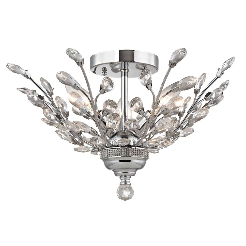 2253 26 Throughout Crystal Chrome Chandeliers (View 14 of 15)