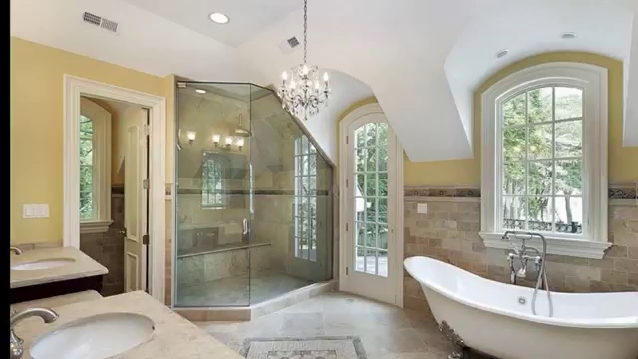 27 Beautiful Bathroom Chandeliers In Luxury Master Suites – Youtube Within Widely Used Chandeliers For The Bathroom (View 1 of 15)
