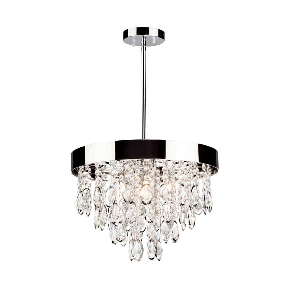 3 Light Crystal Chandeliers Within Well Known Artcraft Lighting Ac10110 Elegante 3 Light Crystal Chandelier (View 6 of 15)