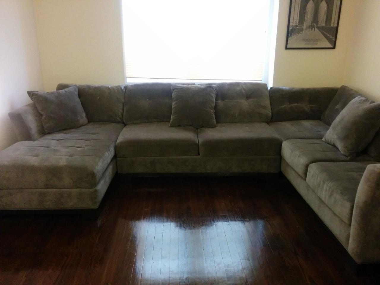 3 Piece Sectional Sofas With Chaise With Regard To Fashionable Elegant Elliot Sectional Sofa 3 Piece Chaise 67 For Mitchell Gold (View 4 of 15)
