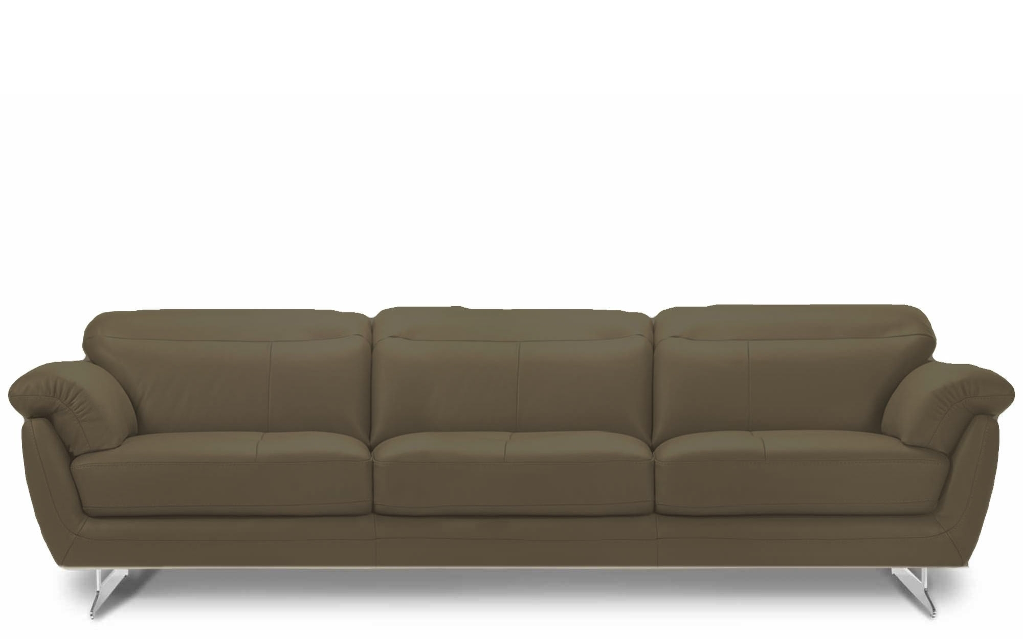 3 Seater Leather Sofas Intended For Current Rom Barbados 3 Seater Leather Sofa (View 15 of 15)