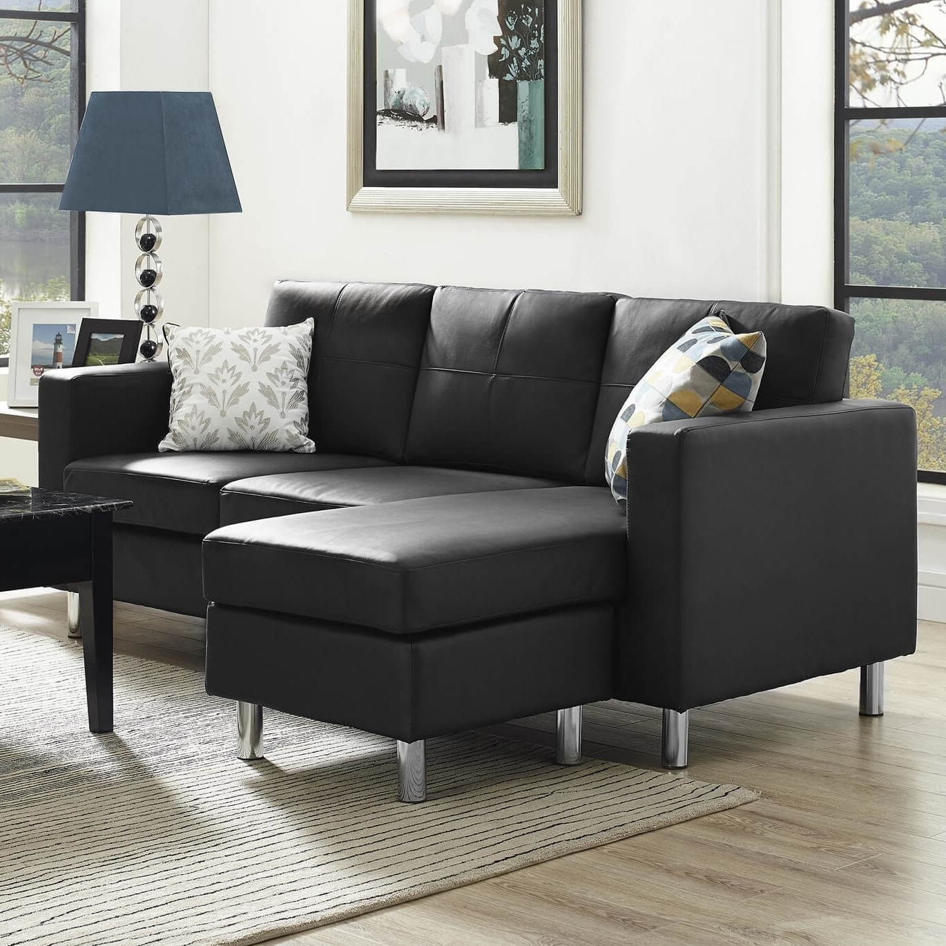 40 Cheap Sectional Sofas Under $500 For 2018 Inside Best And Newest Canada Sectional Sofas For Small Spaces (View 1 of 15)
