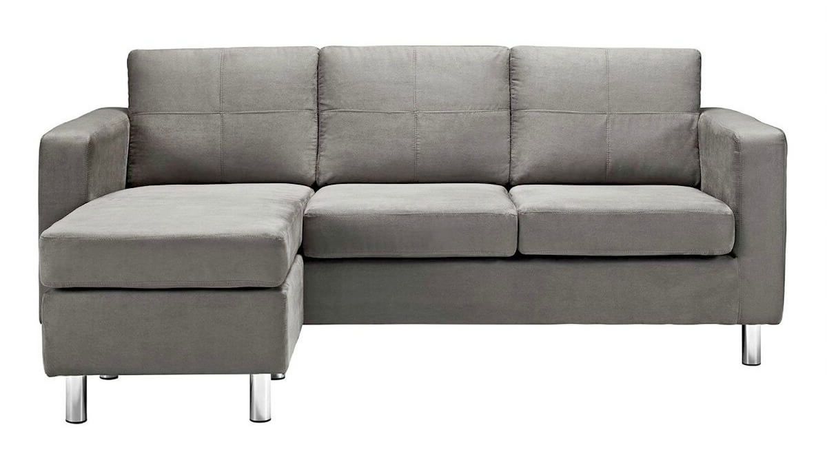 40 Cheap Sectional Sofas Under $500 For 2018 With Regard To Widely Used Small Chaise Sofas (View 10 of 15)