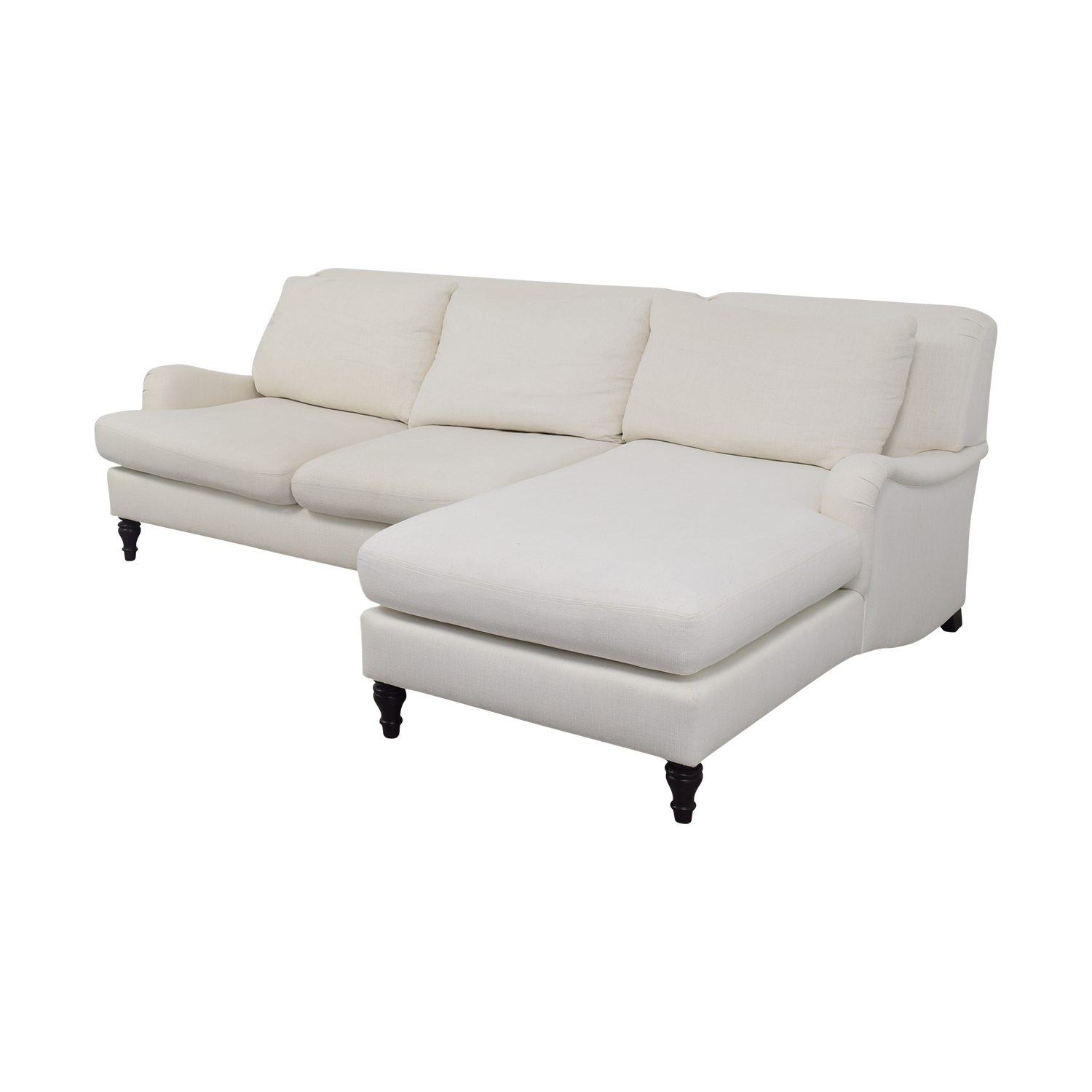 [%42% Off – Pottery Barn Pottery Barn Carlisle White Chaise Pertaining To Well Liked Pottery Barn Chaises|Pottery Barn Chaises Inside Most Recent 42% Off – Pottery Barn Pottery Barn Carlisle White Chaise|Newest Pottery Barn Chaises In 42% Off – Pottery Barn Pottery Barn Carlisle White Chaise|Favorite 42% Off – Pottery Barn Pottery Barn Carlisle White Chaise Pertaining To Pottery Barn Chaises%] (View 1 of 15)