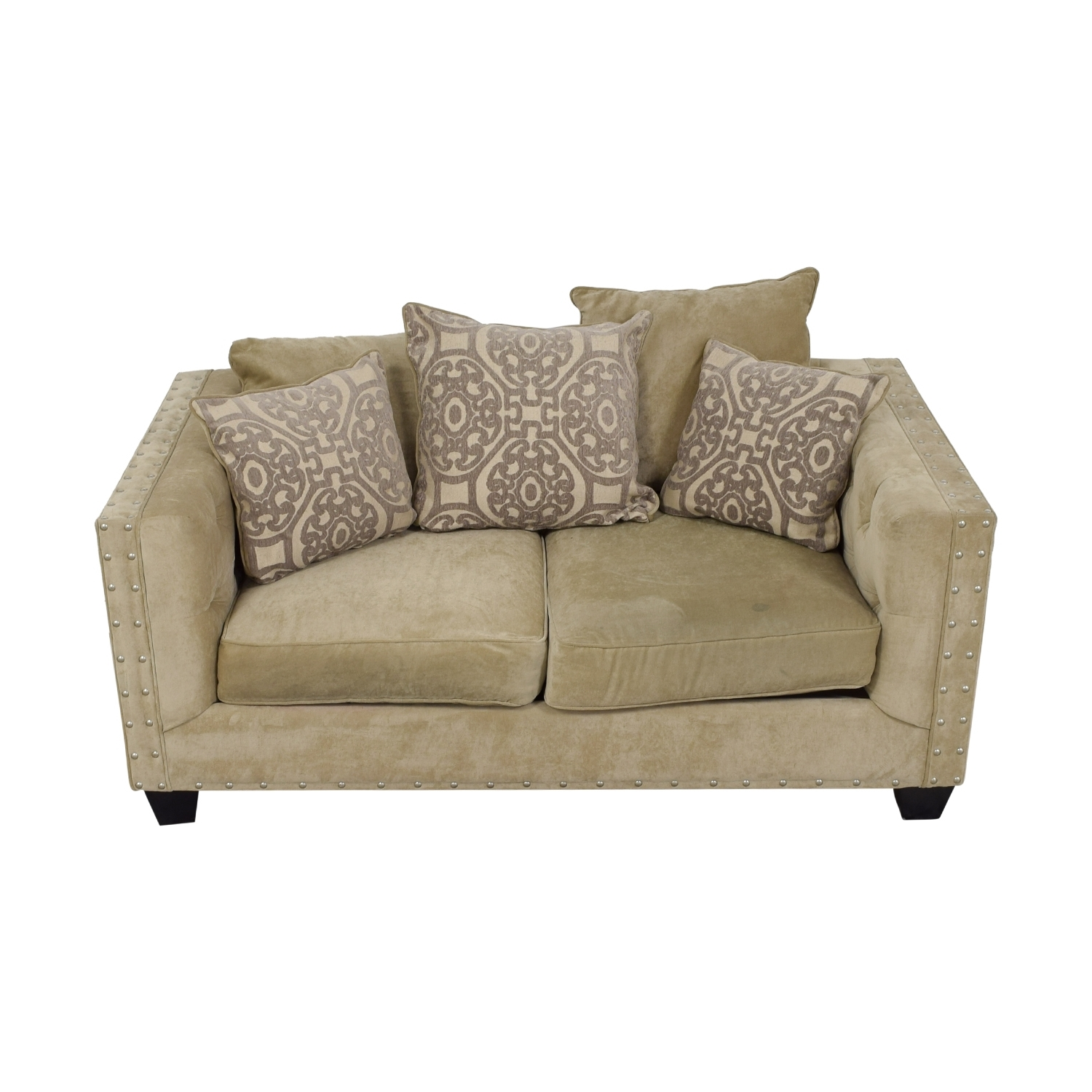 [%45% Off – West Elm West Elm Everett Dark Grey Microsuede Couch / Sofas With Latest Cindy Crawford Sofas|Cindy Crawford Sofas With Best And Newest 45% Off – West Elm West Elm Everett Dark Grey Microsuede Couch / Sofas|Trendy Cindy Crawford Sofas Throughout 45% Off – West Elm West Elm Everett Dark Grey Microsuede Couch / Sofas|Fashionable 45% Off – West Elm West Elm Everett Dark Grey Microsuede Couch / Sofas Intended For Cindy Crawford Sofas%] (View 14 of 15)