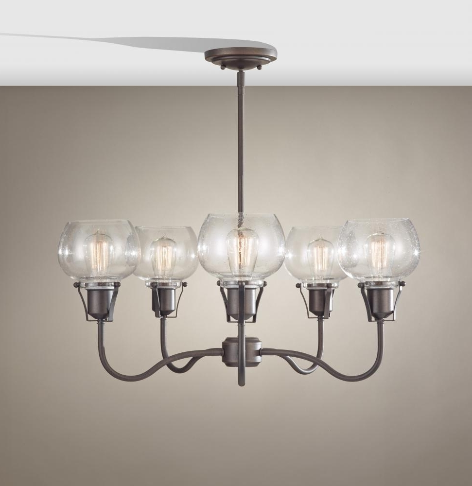 5 – Light Urban Renewal Chandelier : F2824/5Ri (View 1 of 15)