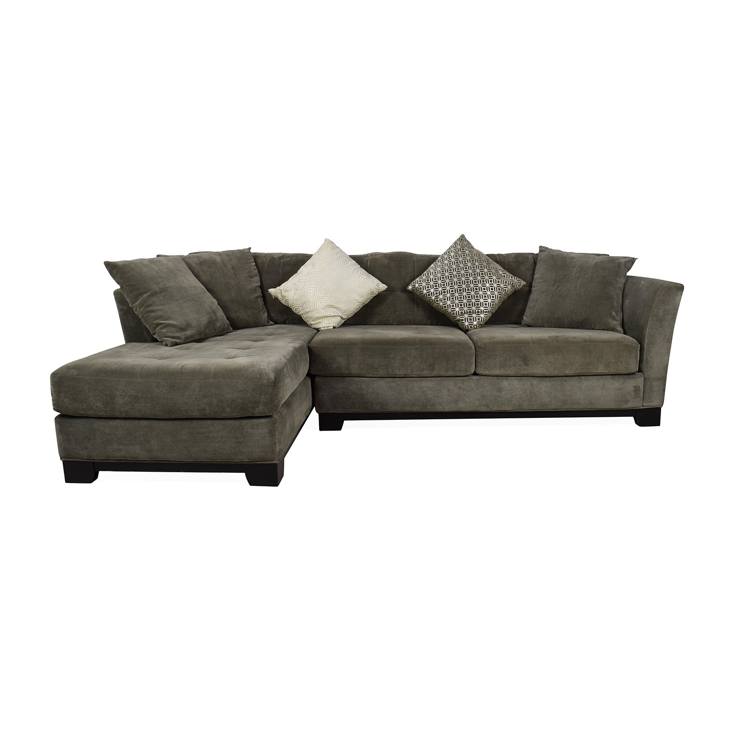 [%50% Off – Macy's Macy's Gray Sectional Couch With Chaise / Sofas Inside 2017 Gray Couches With Chaise|Gray Couches With Chaise Throughout Most Current 50% Off – Macy's Macy's Gray Sectional Couch With Chaise / Sofas|Preferred Gray Couches With Chaise Regarding 50% Off – Macy's Macy's Gray Sectional Couch With Chaise / Sofas|Most Current 50% Off – Macy's Macy's Gray Sectional Couch With Chaise / Sofas Intended For Gray Couches With Chaise%] (View 9 of 15)