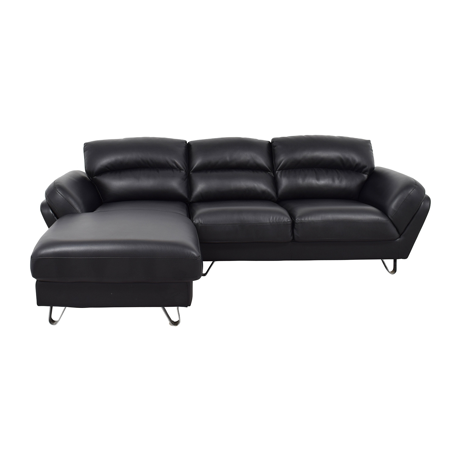 [%51% Off – Contemporary Faux Leather Two Piece Sectional Sofa / Sofas Pertaining To Fashionable Mobilia Sectional Sofas|Mobilia Sectional Sofas For Fashionable 51% Off – Contemporary Faux Leather Two Piece Sectional Sofa / Sofas|Most Recent Mobilia Sectional Sofas Pertaining To 51% Off – Contemporary Faux Leather Two Piece Sectional Sofa / Sofas|Best And Newest 51% Off – Contemporary Faux Leather Two Piece Sectional Sofa / Sofas Throughout Mobilia Sectional Sofas%] (View 1 of 15)