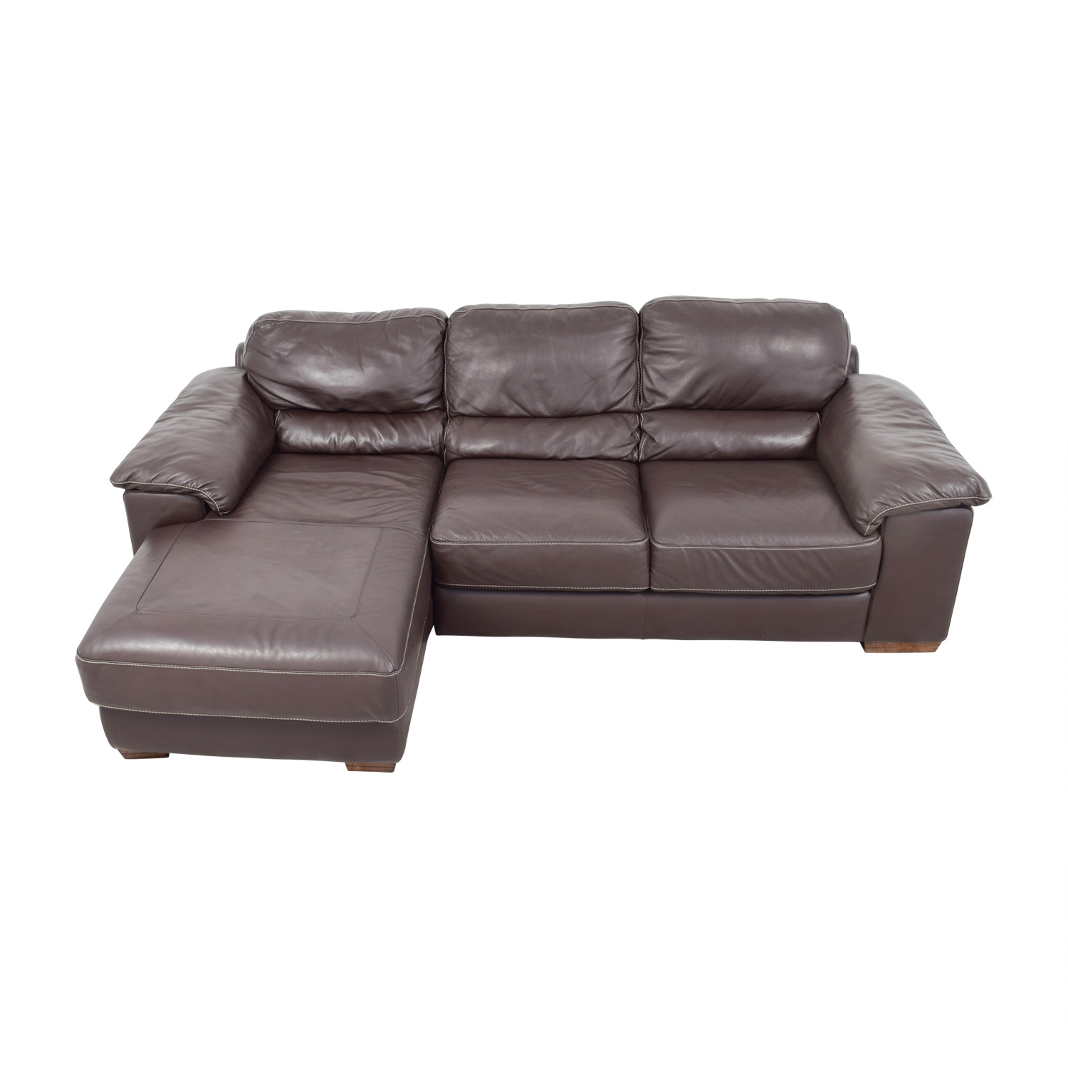 [%54% Off – Raymour & Flanagan Raymour & Flanagan Cindy Crawford With Regard To Famous Leather Chaise Sectionals|Leather Chaise Sectionals Inside 2017 54% Off – Raymour & Flanagan Raymour & Flanagan Cindy Crawford|Widely Used Leather Chaise Sectionals For 54% Off – Raymour & Flanagan Raymour & Flanagan Cindy Crawford|2018 54% Off – Raymour & Flanagan Raymour & Flanagan Cindy Crawford Inside Leather Chaise Sectionals%] (View 8 of 15)