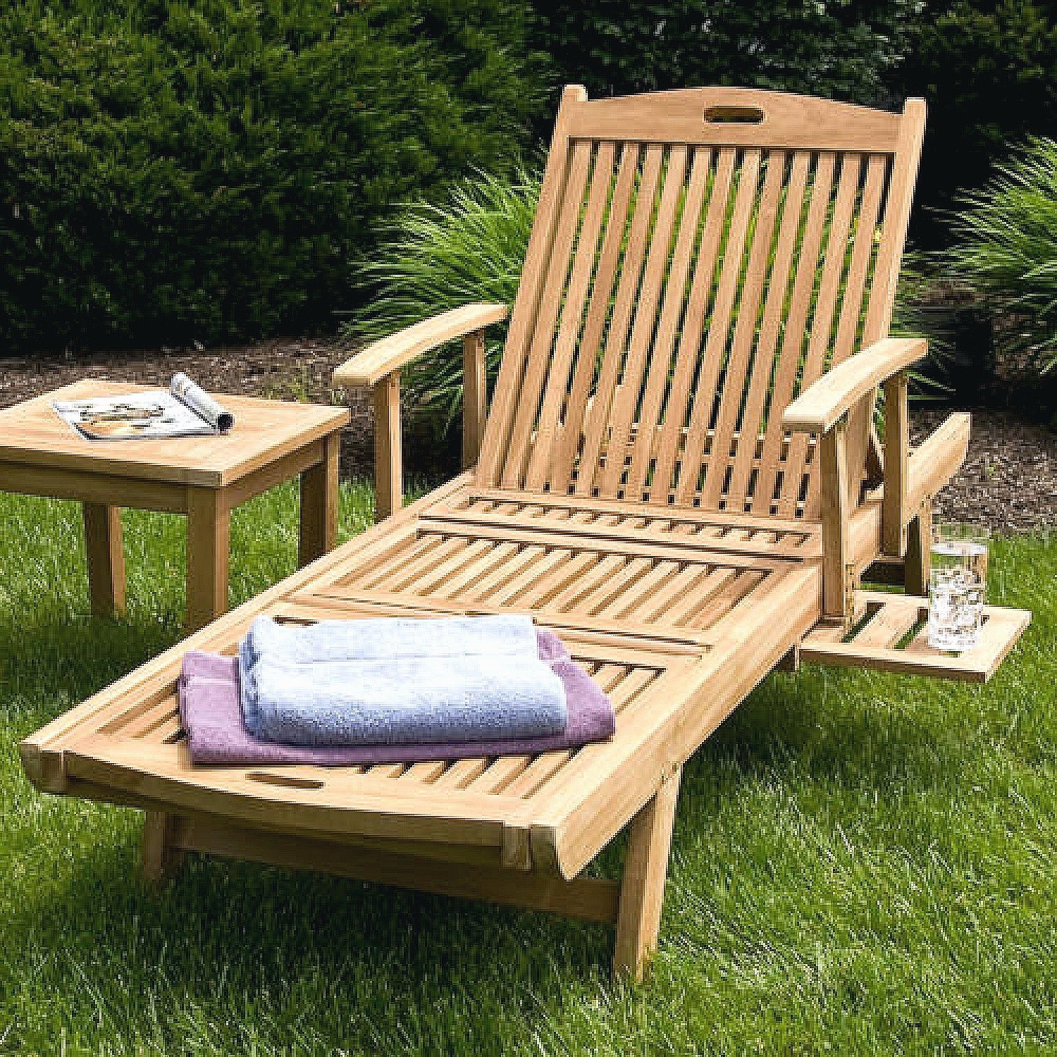 Featured Photo of Teak Chaise Lounge Chairs