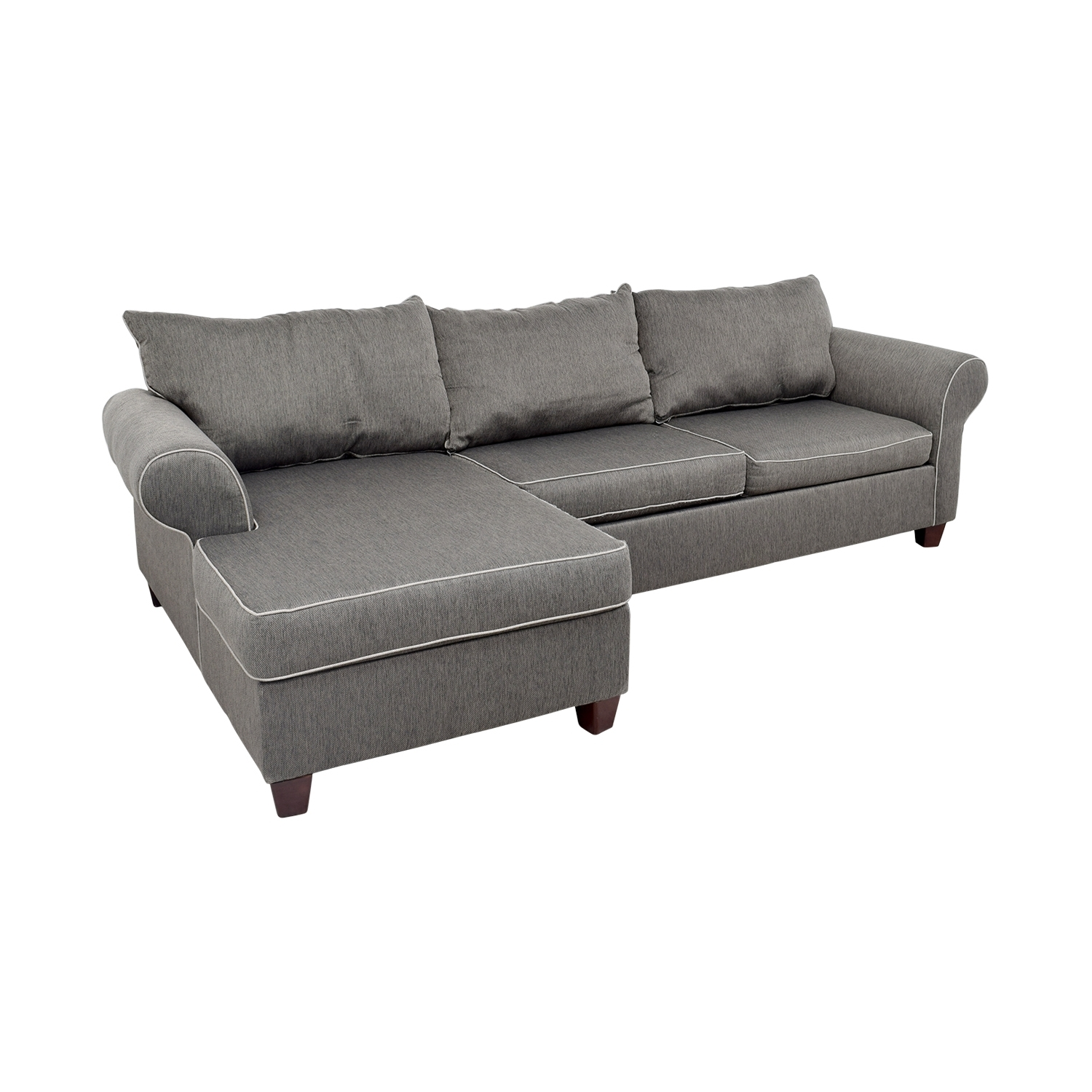 [%58% Off – Bob's Furniture Bob's Furniture Grey Chaise Sectional Throughout Most Recently Released Bobs Furniture Chaises|Bobs Furniture Chaises Regarding Recent 58% Off – Bob's Furniture Bob's Furniture Grey Chaise Sectional|Well Known Bobs Furniture Chaises With 58% Off – Bob's Furniture Bob's Furniture Grey Chaise Sectional|Recent 58% Off – Bob's Furniture Bob's Furniture Grey Chaise Sectional Intended For Bobs Furniture Chaises%] (View 6 of 15)