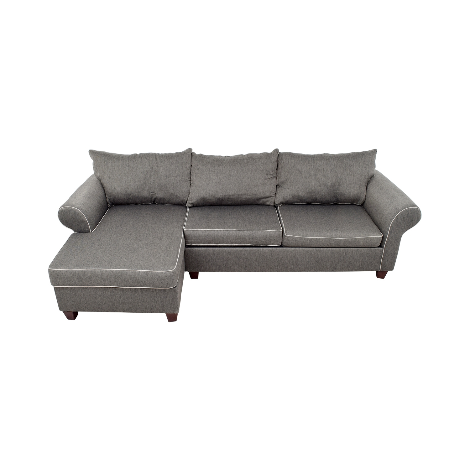 [%58% Off – Bob's Furniture Bob's Furniture Grey Chaise Sectional With Regard To Recent Bobs Furniture Chaises|Bobs Furniture Chaises In Latest 58% Off – Bob's Furniture Bob's Furniture Grey Chaise Sectional|Most Recently Released Bobs Furniture Chaises With 58% Off – Bob's Furniture Bob's Furniture Grey Chaise Sectional|Well Liked 58% Off – Bob's Furniture Bob's Furniture Grey Chaise Sectional With Regard To Bobs Furniture Chaises%] (View 8 of 15)