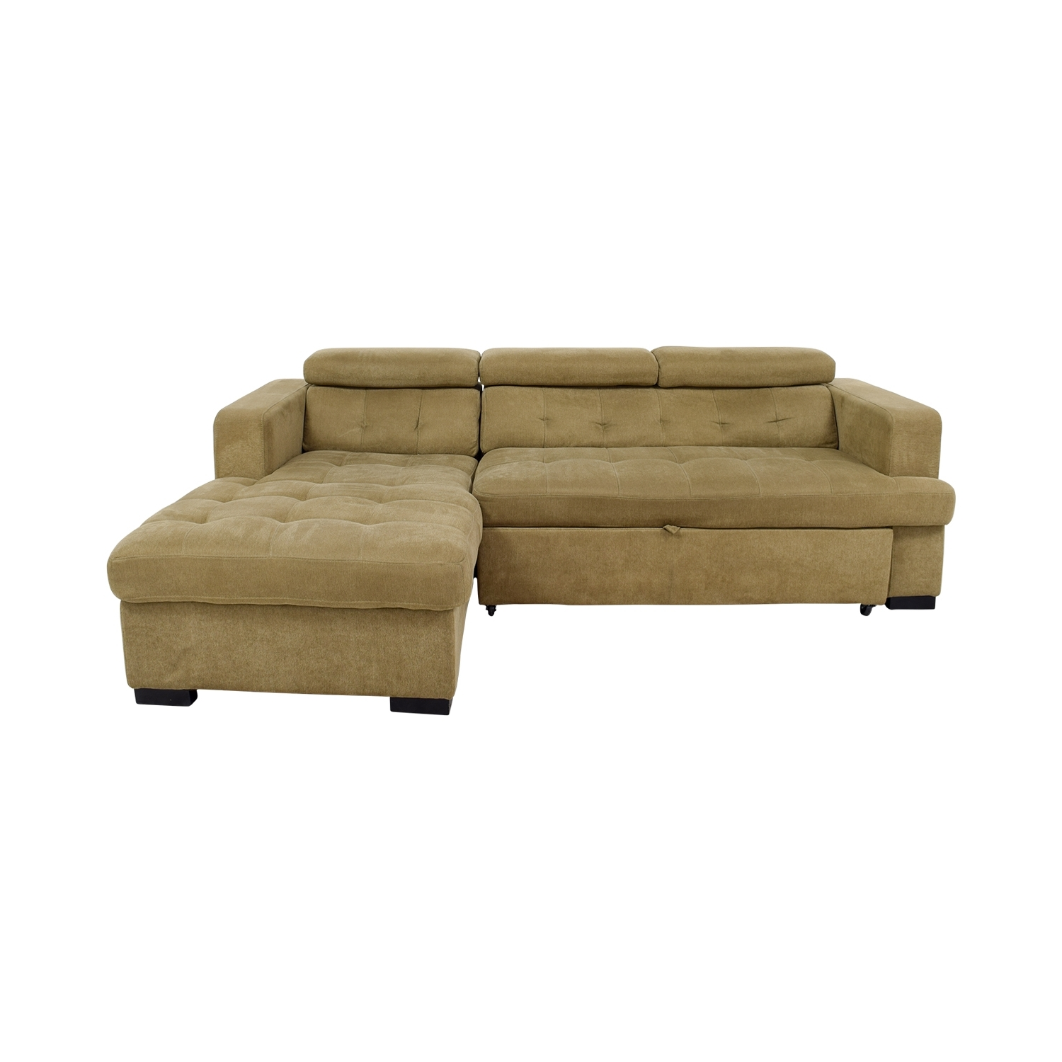 [%59% Off – Bob's Furniture Bob's Furniture Gold Chaise Sectional Intended For Well Liked Sleeper Chaise Sofas|Sleeper Chaise Sofas For Widely Used 59% Off – Bob's Furniture Bob's Furniture Gold Chaise Sectional|Most Recent Sleeper Chaise Sofas Inside 59% Off – Bob's Furniture Bob's Furniture Gold Chaise Sectional|Well Liked 59% Off – Bob's Furniture Bob's Furniture Gold Chaise Sectional Within Sleeper Chaise Sofas%] (View 1 of 15)