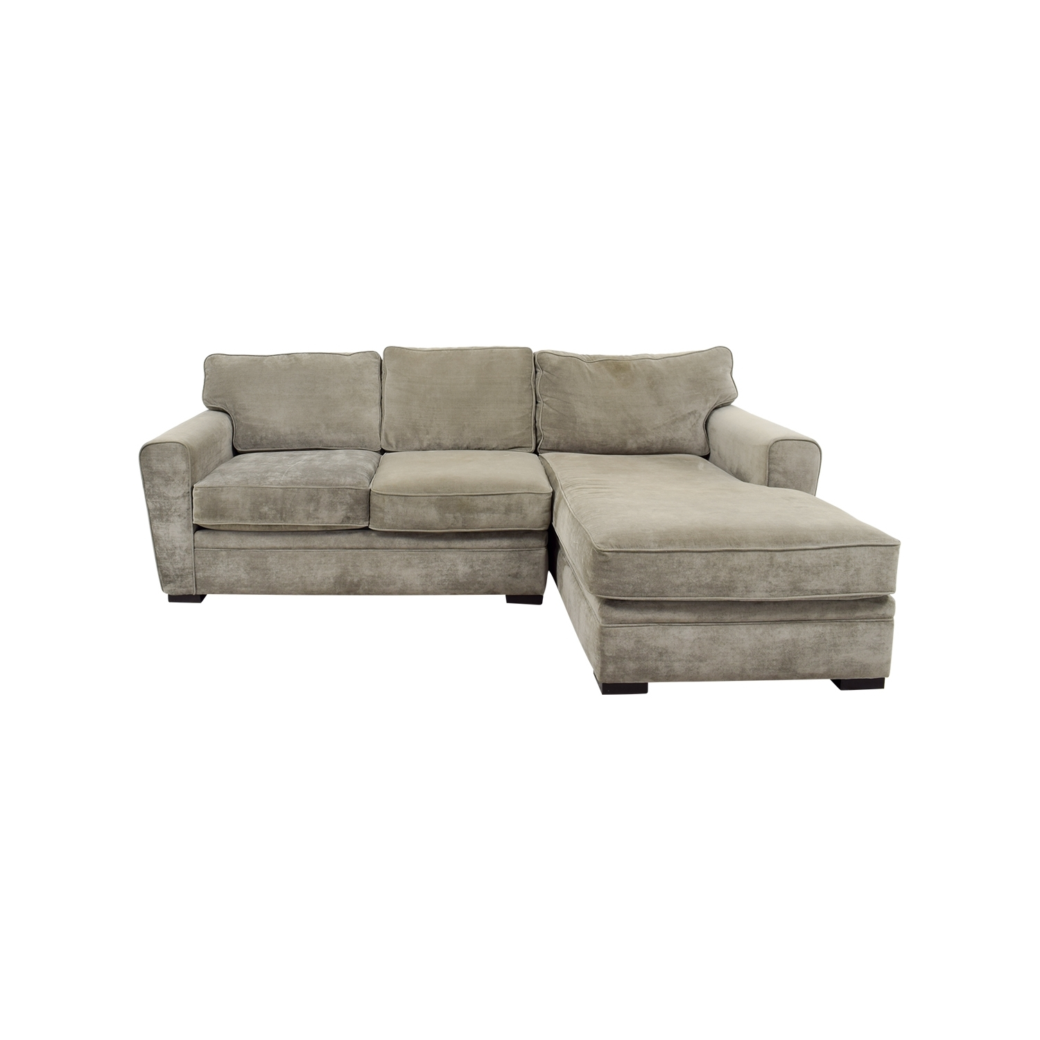 [%60% Off – Crate And Barrel Crate And Barrel Gray Velvet Chaise Regarding Trendy Chaise Loveseats|Chaise Loveseats With Best And Newest 60% Off – Crate And Barrel Crate And Barrel Gray Velvet Chaise|Current Chaise Loveseats Within 60% Off – Crate And Barrel Crate And Barrel Gray Velvet Chaise|Most Recent 60% Off – Crate And Barrel Crate And Barrel Gray Velvet Chaise Regarding Chaise Loveseats%] (View 7 of 15)