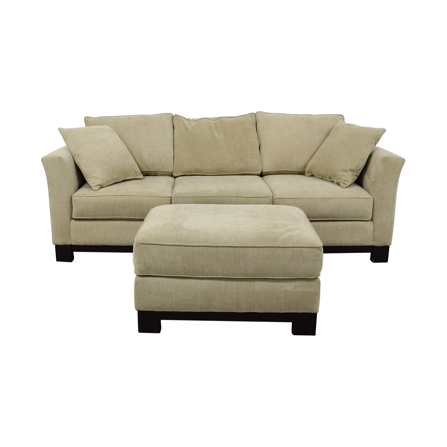 [%60% Off – Macy's Macy's Grey Fabric Couch And Large Ottoman / Sofas With Most Current Sofas With Large Ottoman|Sofas With Large Ottoman Intended For Current 60% Off – Macy's Macy's Grey Fabric Couch And Large Ottoman / Sofas|Well Known Sofas With Large Ottoman With 60% Off – Macy's Macy's Grey Fabric Couch And Large Ottoman / Sofas|Trendy 60% Off – Macy's Macy's Grey Fabric Couch And Large Ottoman / Sofas With Regard To Sofas With Large Ottoman%] (View 1 of 15)