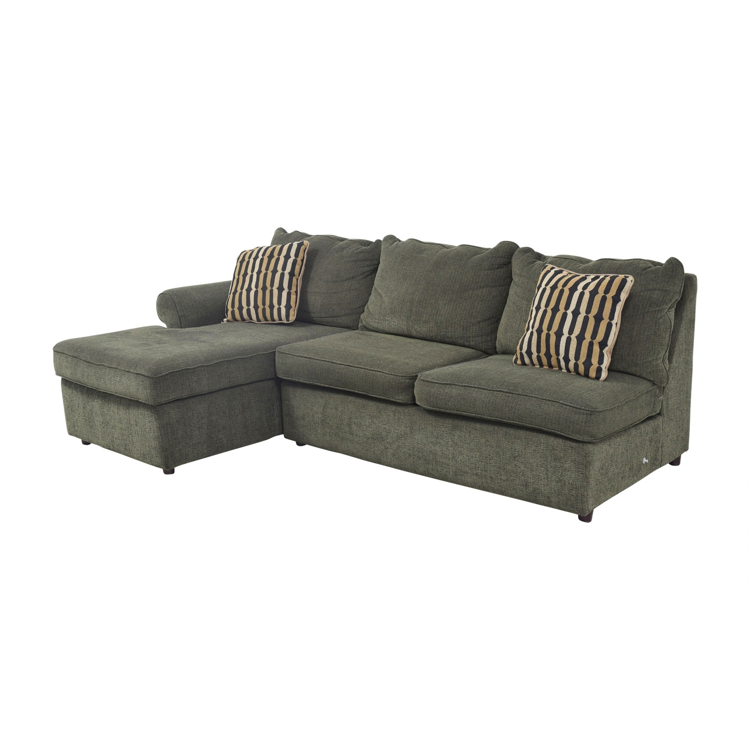 [%64% Off – La Z Boy La Z Boy Forest Green L Shaped Sectional Couch Within Fashionable La Z Boy Sectional Sofas|La Z Boy Sectional Sofas Pertaining To Most Popular 64% Off – La Z Boy La Z Boy Forest Green L Shaped Sectional Couch|Most Recent La Z Boy Sectional Sofas For 64% Off – La Z Boy La Z Boy Forest Green L Shaped Sectional Couch|2017 64% Off – La Z Boy La Z Boy Forest Green L Shaped Sectional Couch For La Z Boy Sectional Sofas%] (View 7 of 15)
