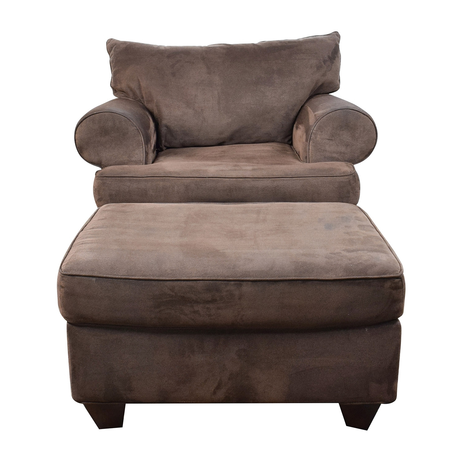 [%67% Off – Dark Brown Sofa Chair With Ottoman / Chairs Intended For Well Known Chairs With Ottoman|Chairs With Ottoman In Most Recently Released 67% Off – Dark Brown Sofa Chair With Ottoman / Chairs|Famous Chairs With Ottoman Regarding 67% Off – Dark Brown Sofa Chair With Ottoman / Chairs|Well Known 67% Off – Dark Brown Sofa Chair With Ottoman / Chairs Inside Chairs With Ottoman%] (View 6 of 15)