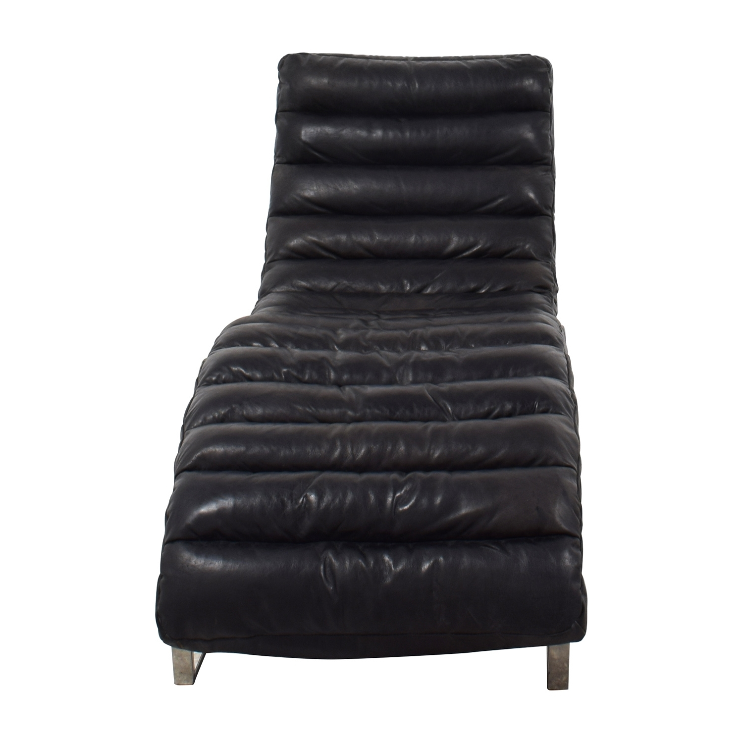 [%68% Off – Restoration Hardware Restoration Hardware Oviedo Black In 2017 Black Leather Chaises|Black Leather Chaises Regarding Popular 68% Off – Restoration Hardware Restoration Hardware Oviedo Black|Newest Black Leather Chaises With 68% Off – Restoration Hardware Restoration Hardware Oviedo Black|Most Up To Date 68% Off – Restoration Hardware Restoration Hardware Oviedo Black For Black Leather Chaises%] (View 1 of 15)