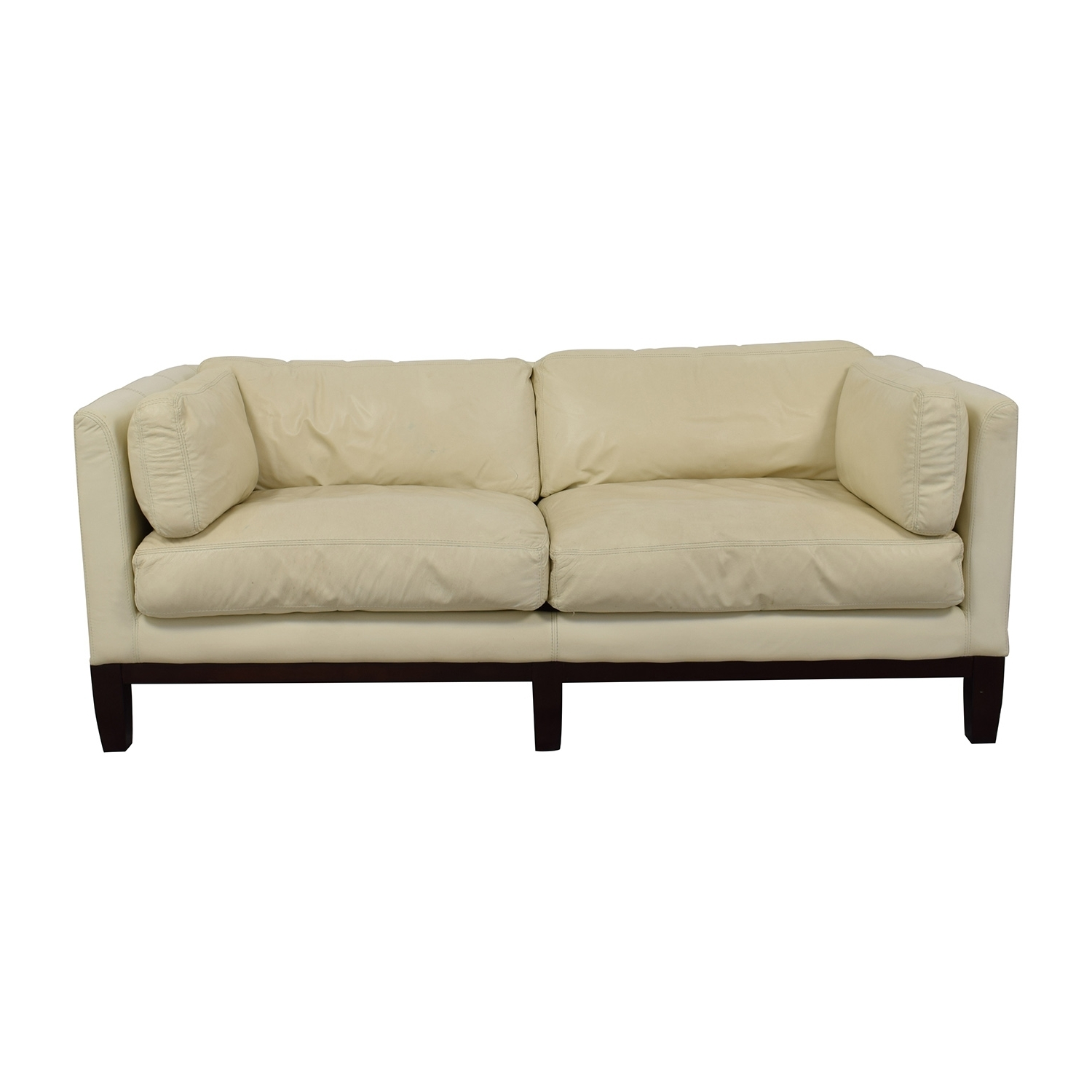 [%72% Off – Decoro Decoro Off White Leather Sofa / Sofas In Widely Used Off White Leather Sofas|Off White Leather Sofas With Most Recent 72% Off – Decoro Decoro Off White Leather Sofa / Sofas|Most Recent Off White Leather Sofas Throughout 72% Off – Decoro Decoro Off White Leather Sofa / Sofas|Recent 72% Off – Decoro Decoro Off White Leather Sofa / Sofas Within Off White Leather Sofas%] (View 2 of 15)