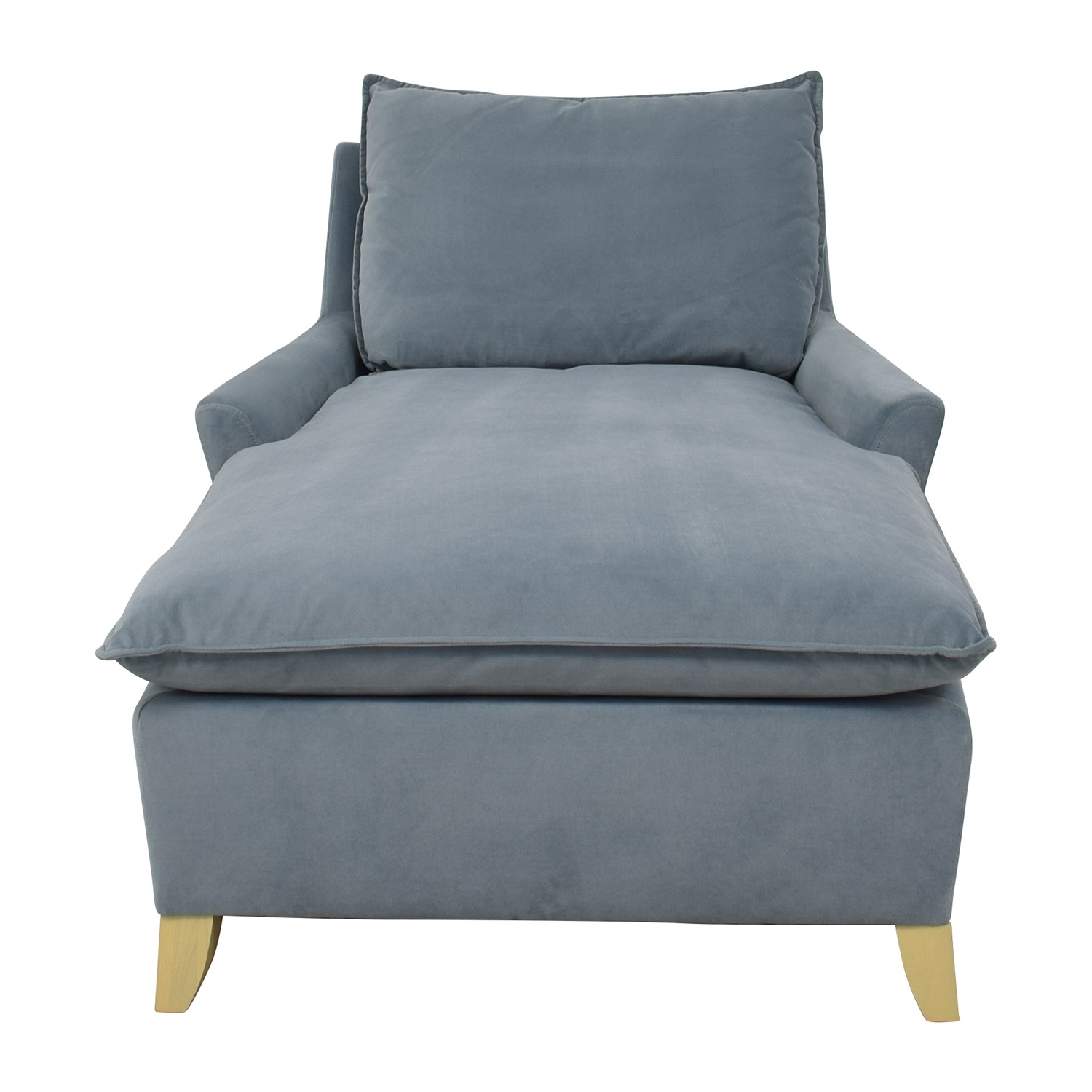 [%72% Off – West Elm West Elm Bliss Steel Blue Velvet Lounge Chaise Inside Most Current West Elm Chaises|West Elm Chaises Pertaining To Best And Newest 72% Off – West Elm West Elm Bliss Steel Blue Velvet Lounge Chaise|Well Liked West Elm Chaises Inside 72% Off – West Elm West Elm Bliss Steel Blue Velvet Lounge Chaise|Best And Newest 72% Off – West Elm West Elm Bliss Steel Blue Velvet Lounge Chaise Within West Elm Chaises%] (View 8 of 15)