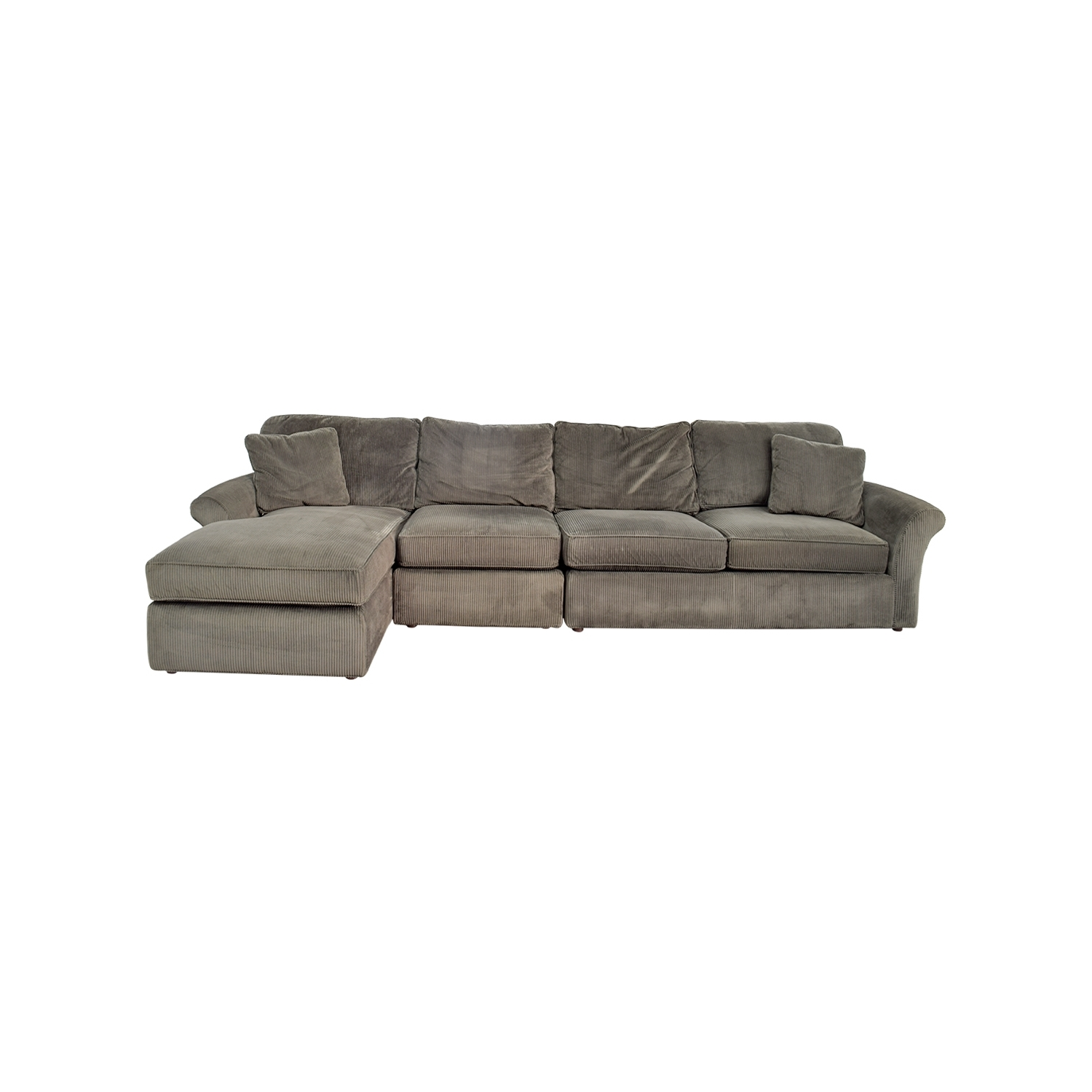 [%74% Off – Macy's Macy's Modern Concepts Charcoal Gray Corduroy Pertaining To Most Popular Modern Chaise Sofas|Modern Chaise Sofas Inside Famous 74% Off – Macy's Macy's Modern Concepts Charcoal Gray Corduroy|Most Up To Date Modern Chaise Sofas Pertaining To 74% Off – Macy's Macy's Modern Concepts Charcoal Gray Corduroy|Fashionable 74% Off – Macy's Macy's Modern Concepts Charcoal Gray Corduroy With Regard To Modern Chaise Sofas%] (View 8 of 15)
