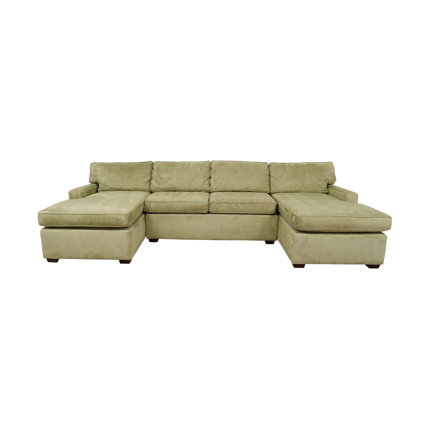 [%74% Off – Pottery Barn Pottery Barn Double Chaise Light Green Throughout Famous Pottery Barn Chaises|Pottery Barn Chaises In Most Recent 74% Off – Pottery Barn Pottery Barn Double Chaise Light Green|Trendy Pottery Barn Chaises Intended For 74% Off – Pottery Barn Pottery Barn Double Chaise Light Green|Most Current 74% Off – Pottery Barn Pottery Barn Double Chaise Light Green Pertaining To Pottery Barn Chaises%] (View 2 of 15)