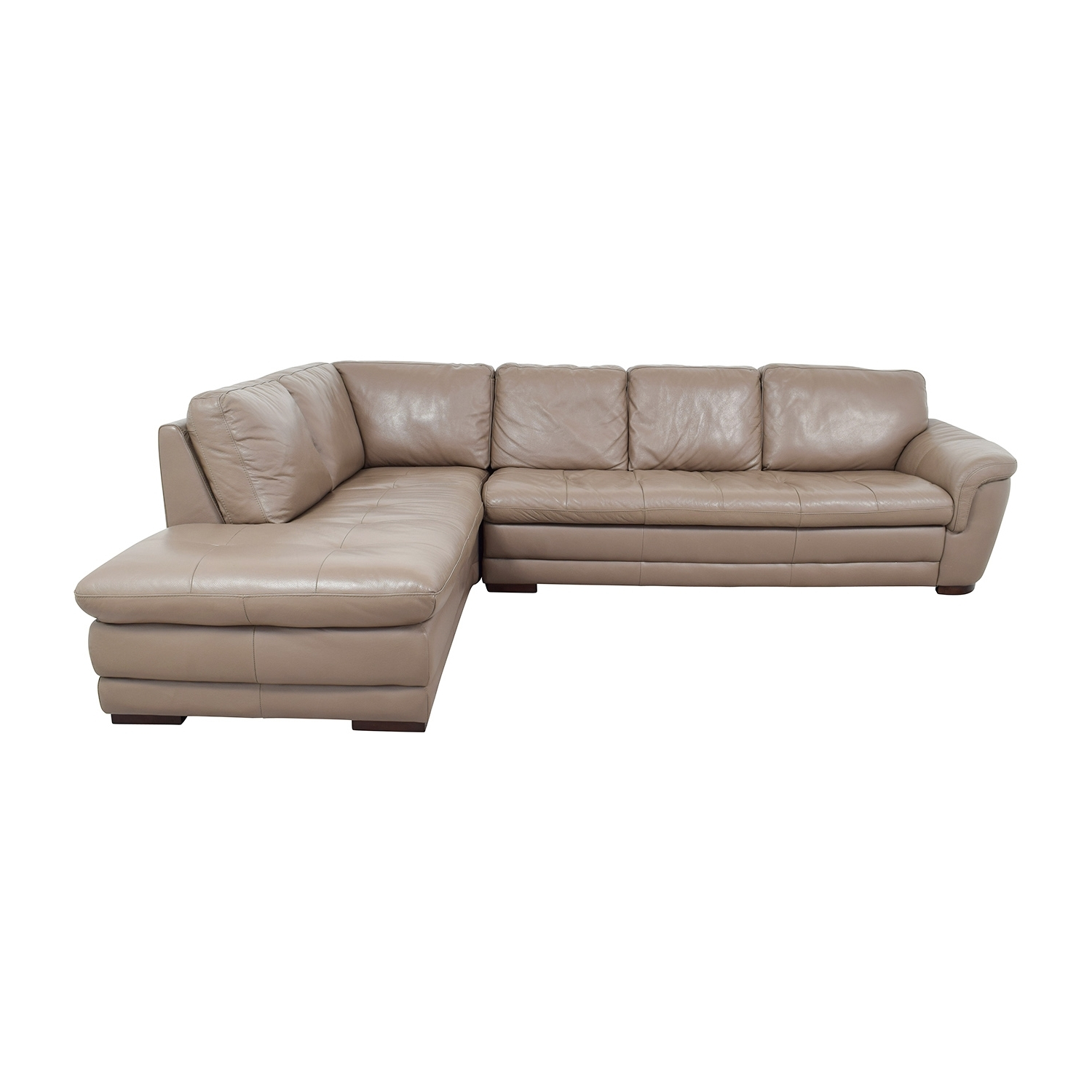[%74% Off – Raymour And Flanigan Raymour & Flanigan Tan Tufted Intended For 2018 Sectional Sofas At Raymour And Flanigan|Sectional Sofas At Raymour And Flanigan For Preferred 74% Off – Raymour And Flanigan Raymour & Flanigan Tan Tufted|Recent Sectional Sofas At Raymour And Flanigan In 74% Off – Raymour And Flanigan Raymour & Flanigan Tan Tufted|Well Known 74% Off – Raymour And Flanigan Raymour & Flanigan Tan Tufted With Sectional Sofas At Raymour And Flanigan%] (View 6 of 15)