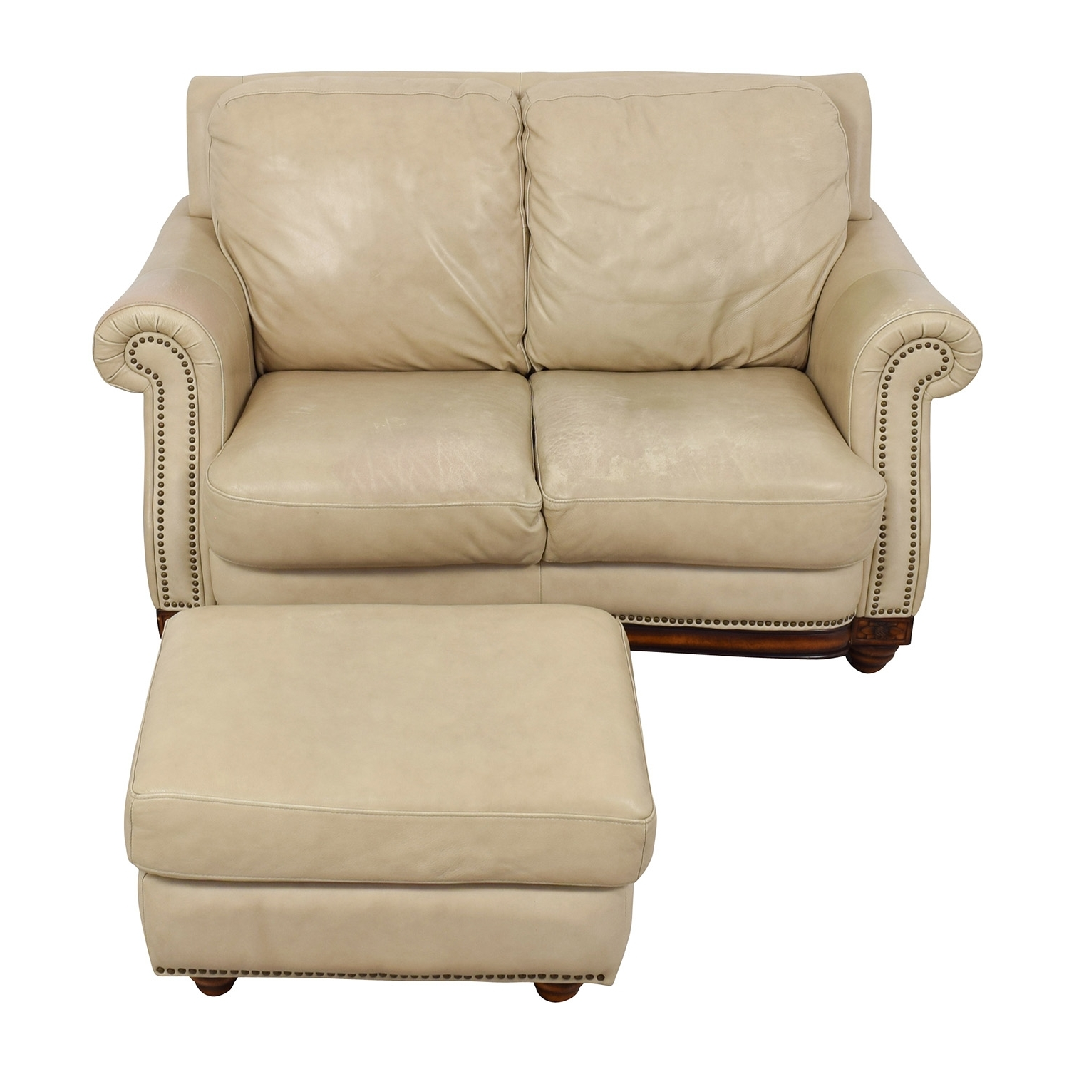 [%74% Off – Raymour & Flanigan Raymour & Flanigan Studded Tan Intended For Well Known Loveseats With Ottoman|Loveseats With Ottoman Regarding Most Popular 74% Off – Raymour & Flanigan Raymour & Flanigan Studded Tan|Well Known Loveseats With Ottoman Intended For 74% Off – Raymour & Flanigan Raymour & Flanigan Studded Tan|Preferred 74% Off – Raymour & Flanigan Raymour & Flanigan Studded Tan Within Loveseats With Ottoman%] (View 4 of 15)