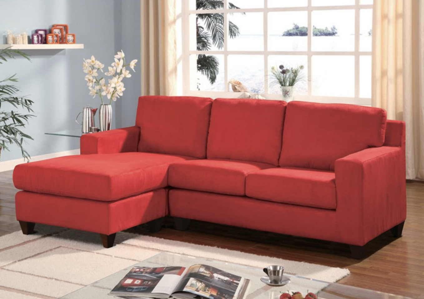 75 Modern Sectional Sofas For Small Spaces (2018) Inside Well Liked 100X80 Sectional Sofas (View 5 of 15)