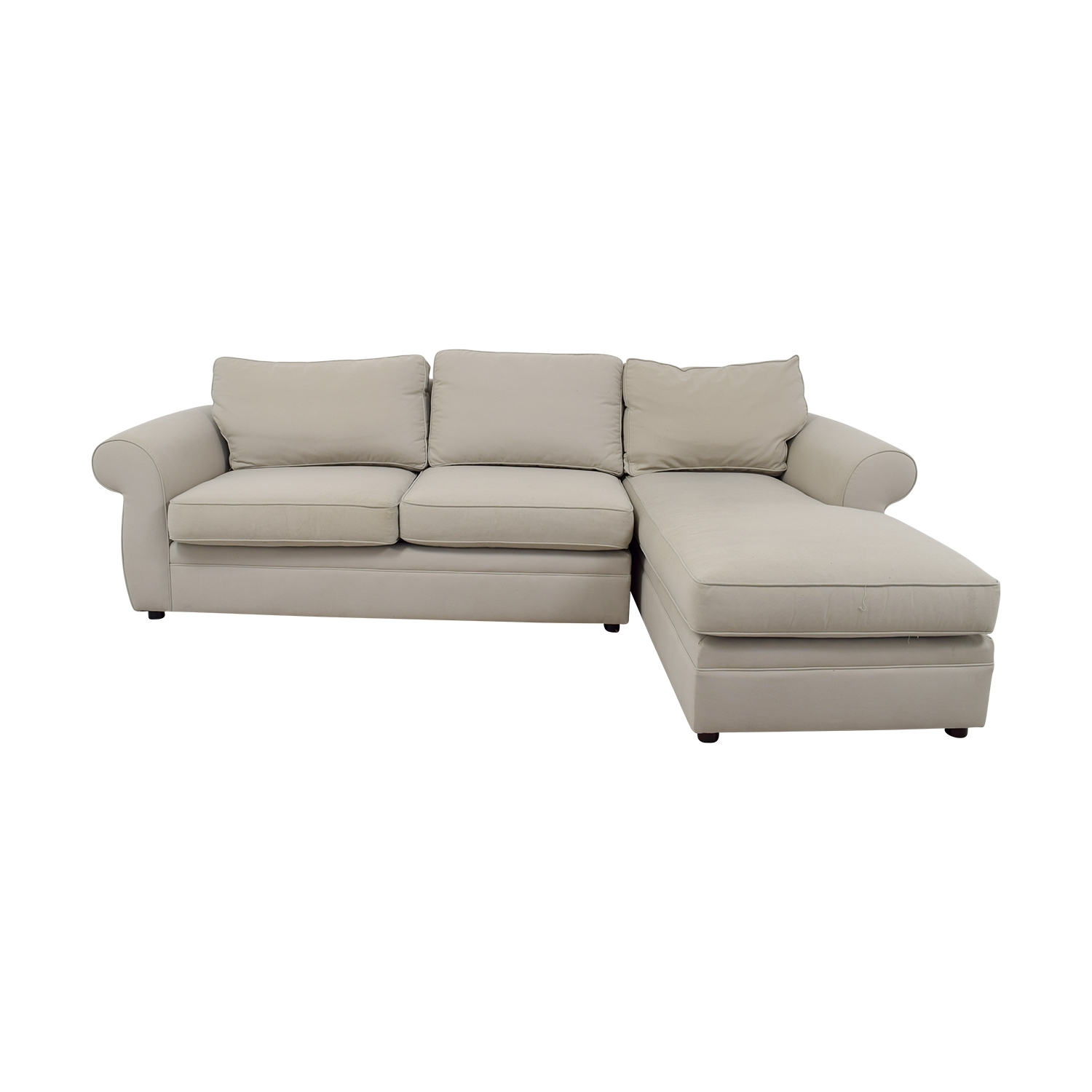 [%76% Off – Pottery Barn Pottery Barn Townsend Cream Upholstered Within Well Known Pottery Barn Chaises|Pottery Barn Chaises For Famous 76% Off – Pottery Barn Pottery Barn Townsend Cream Upholstered|Most Recently Released Pottery Barn Chaises With 76% Off – Pottery Barn Pottery Barn Townsend Cream Upholstered|Most Recent 76% Off – Pottery Barn Pottery Barn Townsend Cream Upholstered Within Pottery Barn Chaises%] (View 5 of 15)
