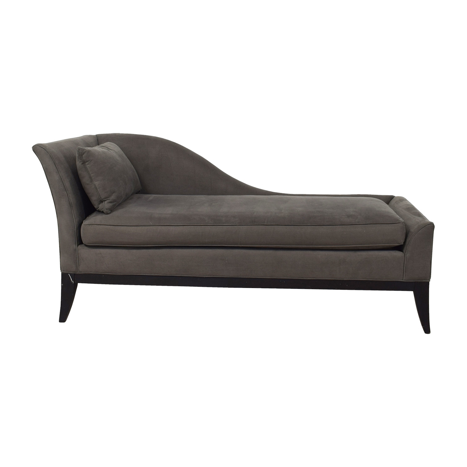 [%78% Off – Grey Chaise Lounge / Sofas In Fashionable Grey Chaises|Grey Chaises Inside Most Recently Released 78% Off – Grey Chaise Lounge / Sofas|Most Popular Grey Chaises Inside 78% Off – Grey Chaise Lounge / Sofas|Most Recently Released 78% Off – Grey Chaise Lounge / Sofas Regarding Grey Chaises%] (View 6 of 15)